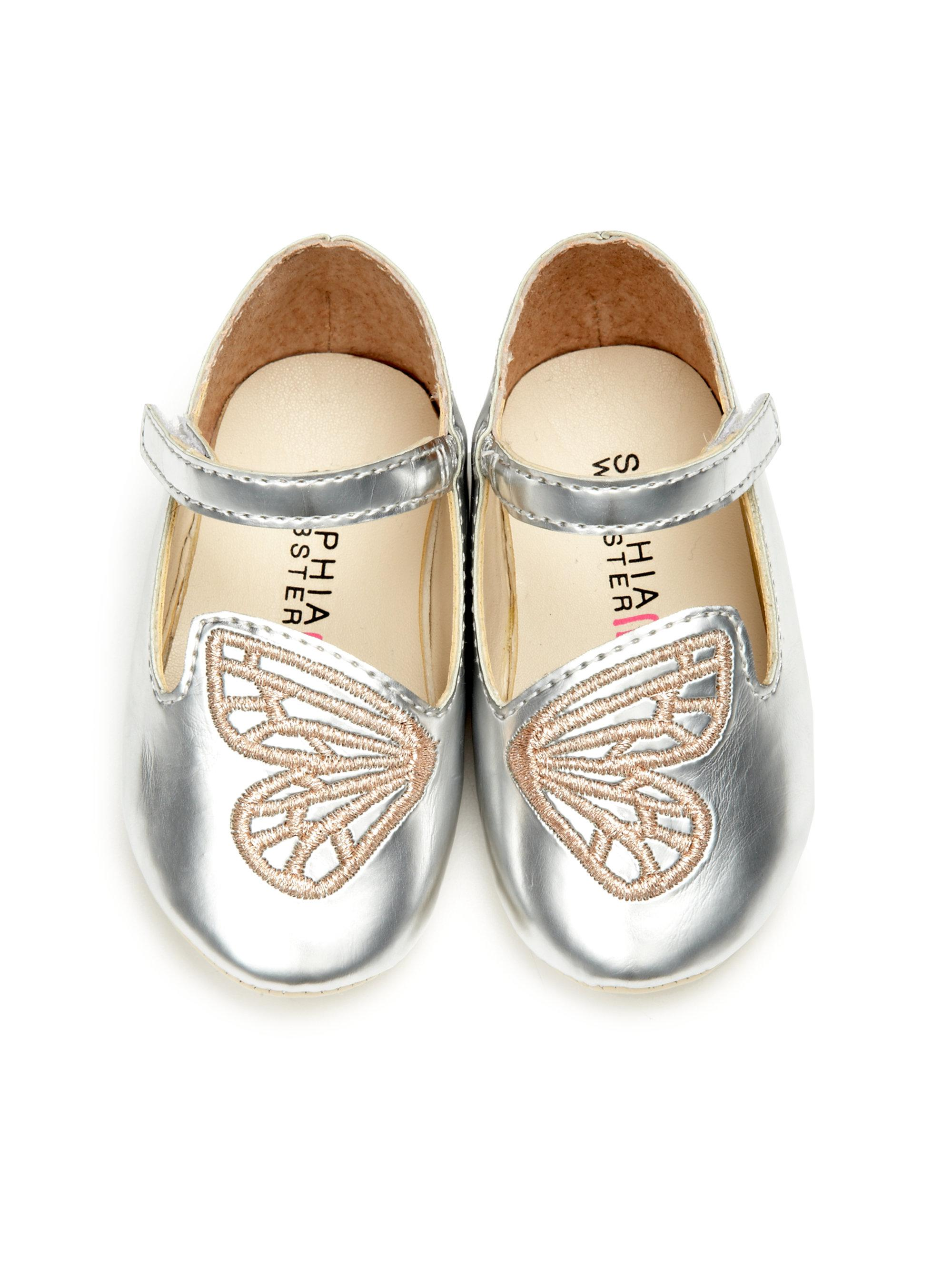 b4bc03a55fd6 Sophia Webster Baby s Bibi Mini Butterfly Metallic Leather Mary ...