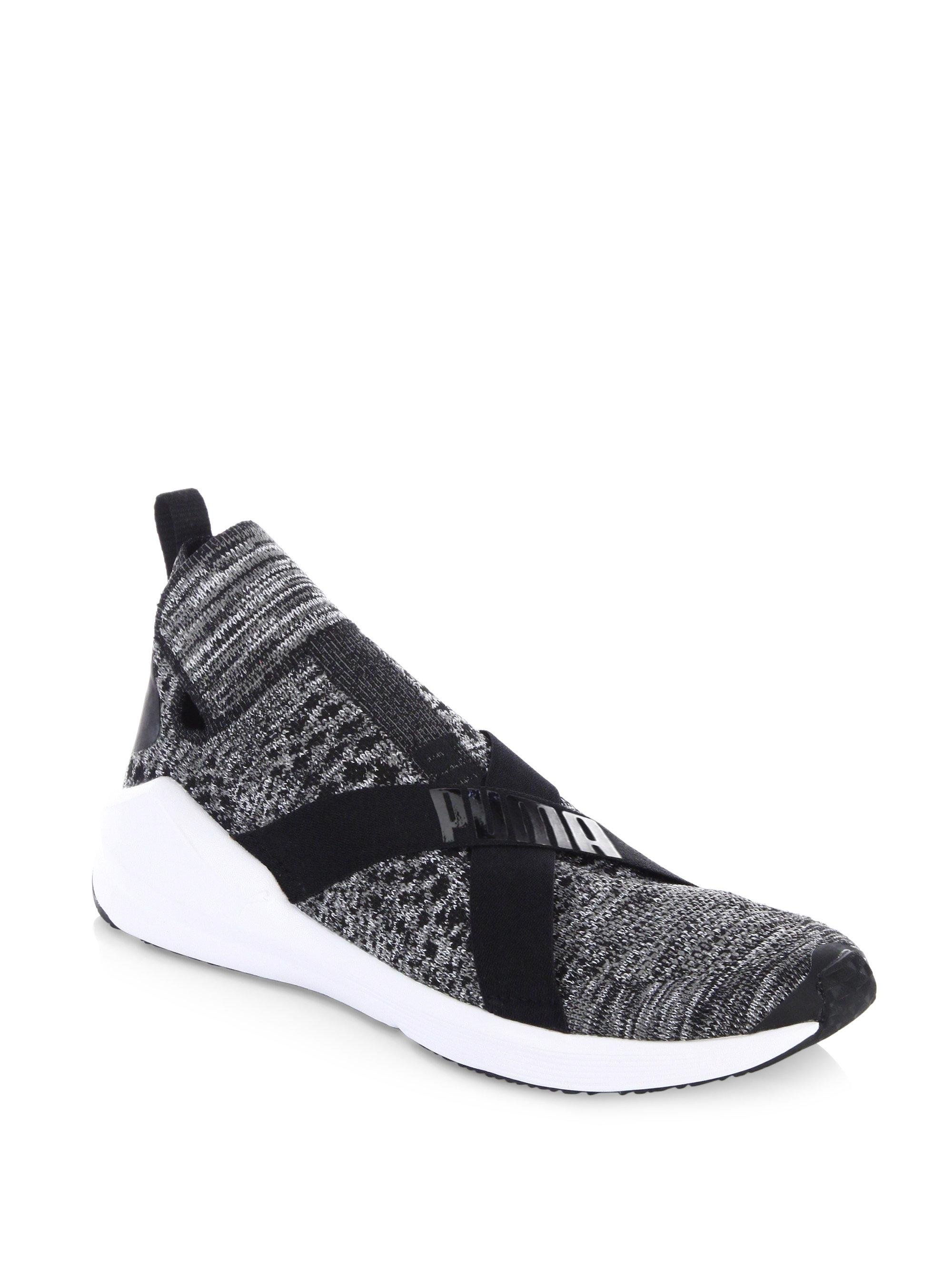 Lyst - PUMA Fierce Evoknit Training Shoes in Black b426e75bb