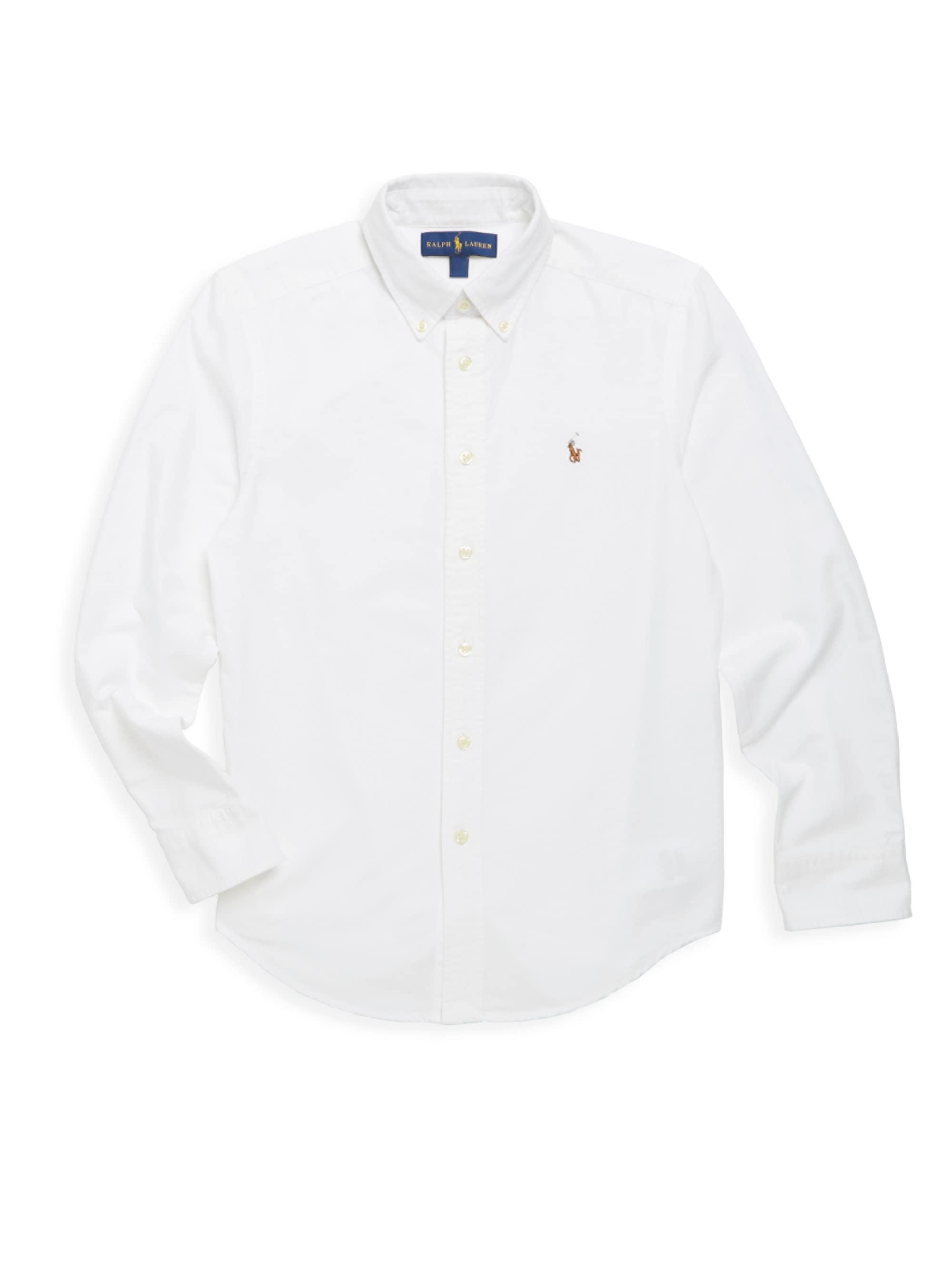 5eb7ab4b6 Lyst - Ralph Lauren Little Boy s   Boy s Oxford Cotton Button-down ...