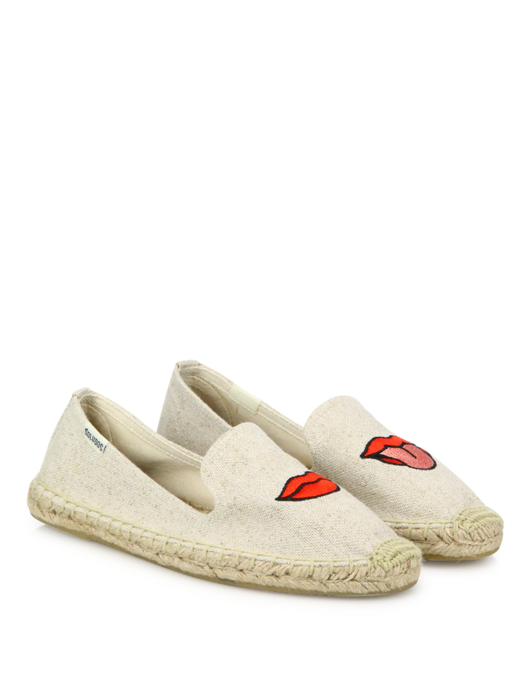Soludos Canvas Espadrille Flats 2014 newest sale online 100% authentic cheap price outlet professional sneakernews cheap price clearance websites Cnw51xZODs