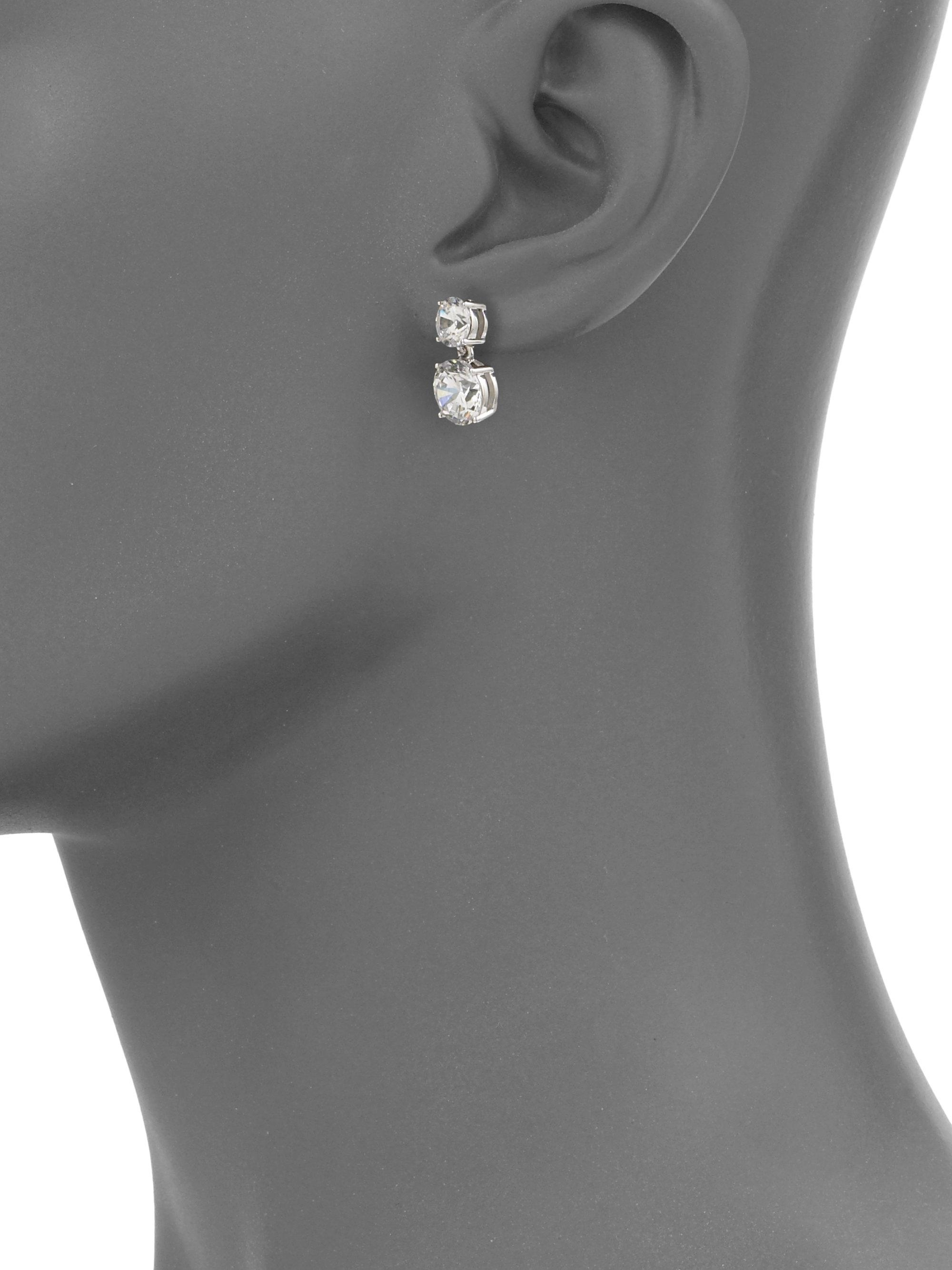 cttw stud h diamond drop earrings gold next white i products double