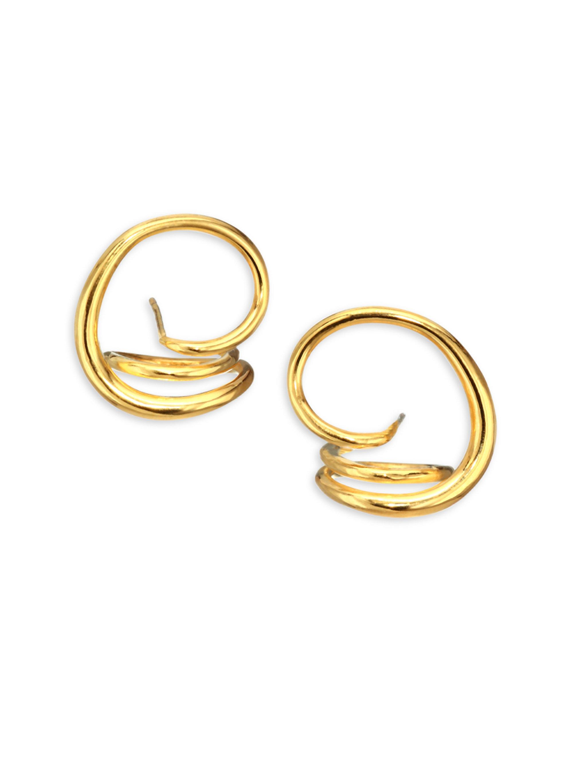 Charlotte Chesnais Round Trip earrings - Metallic xwSe4q