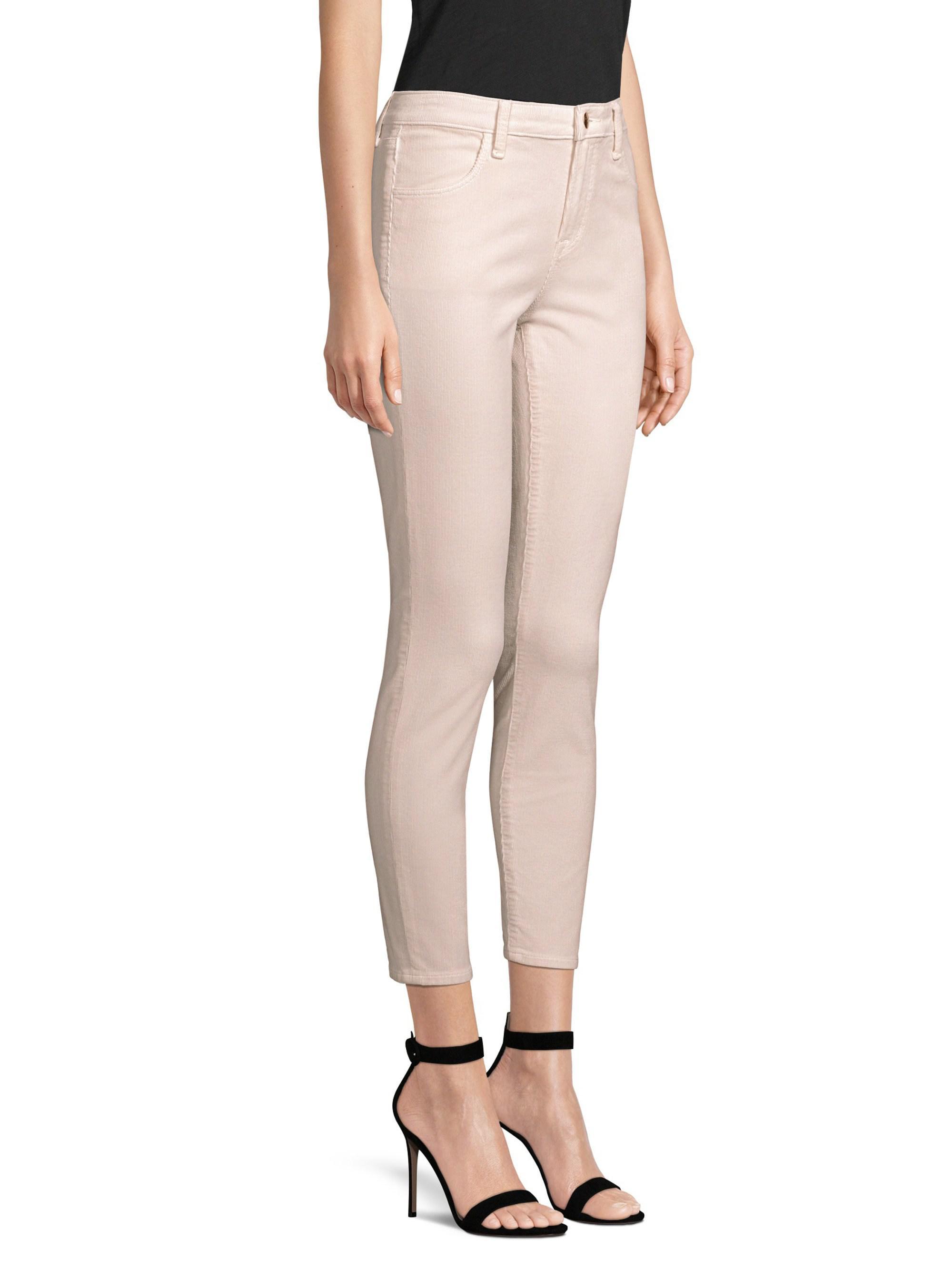 ef20fc71066 J Brand Alana Corduroy Skinny Pants - Lyst