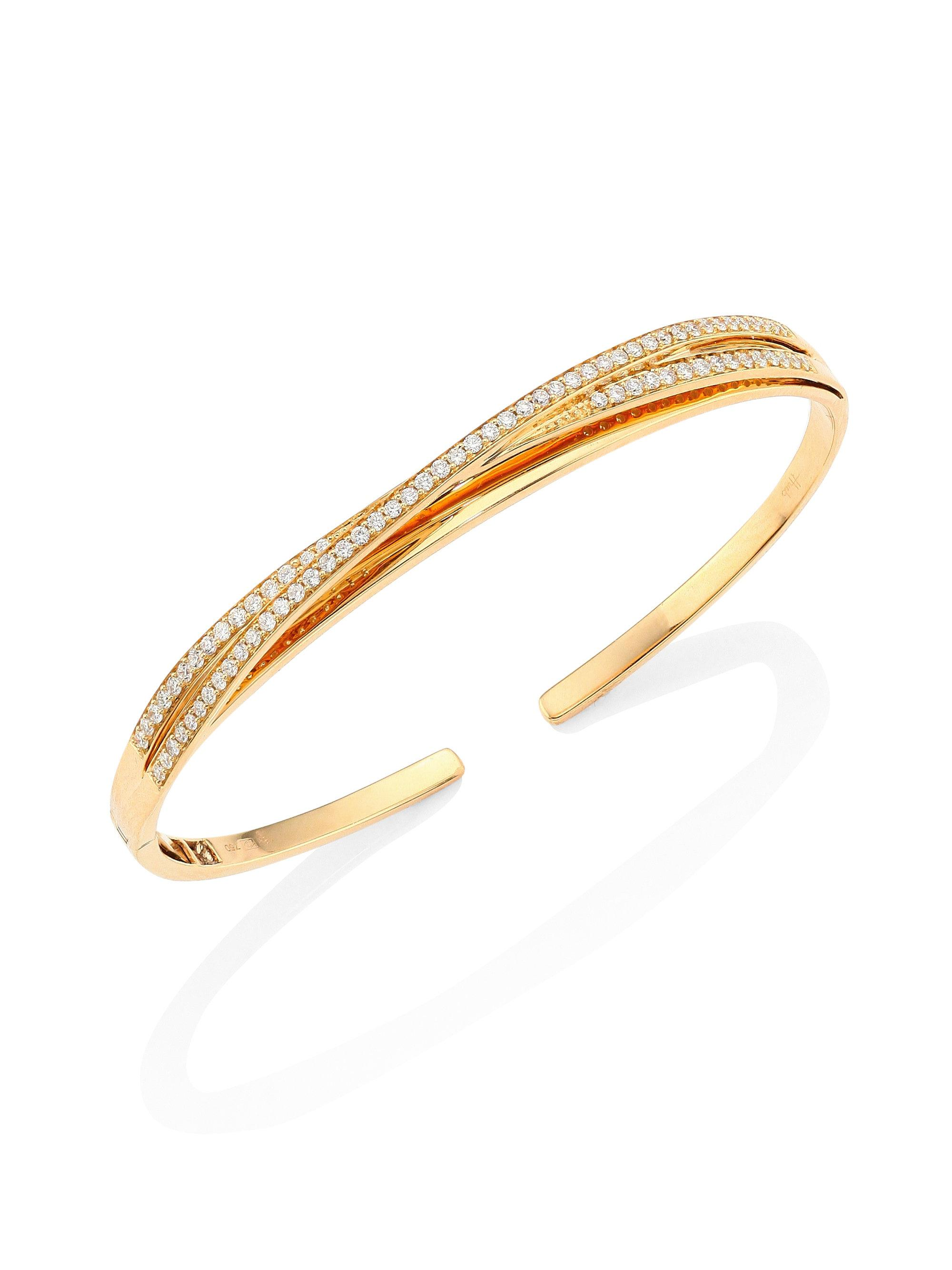 jewellery shop image open bangle burton bee bangles olivia ladies gold all end london