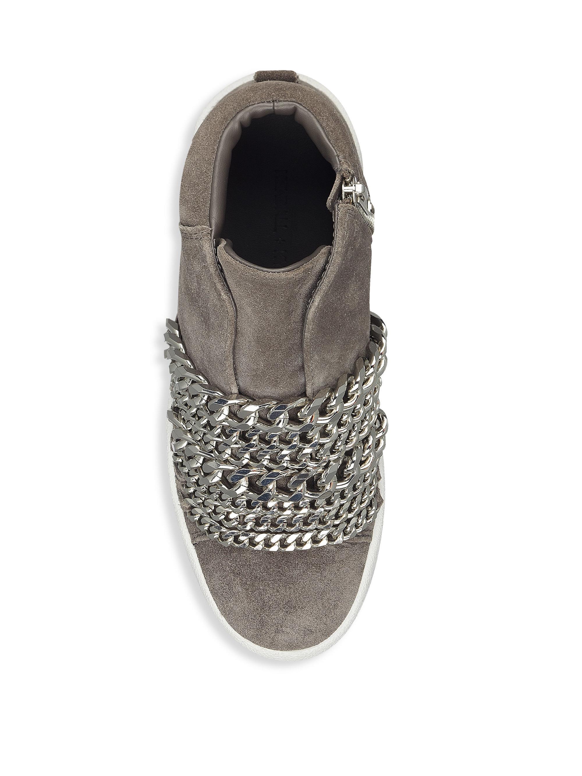 KENDALL + KYLIE Side-Zip Suede Streetwear LECyivbo