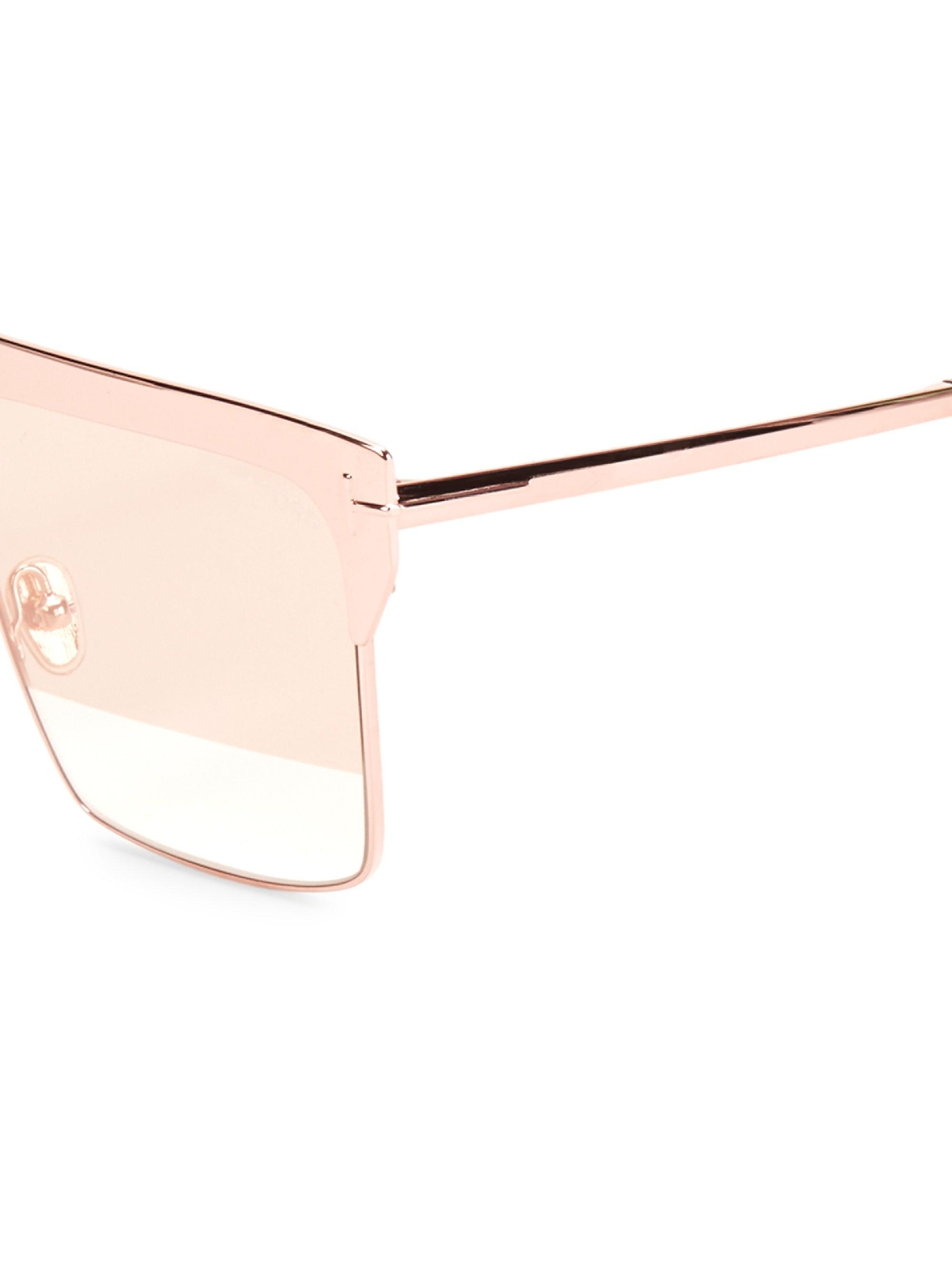 0696b2999395b Tom Ford - Multicolor Women s West 59mm Square Rose Goldplated Sunglasses -  Rose Gold - Lyst. View fullscreen