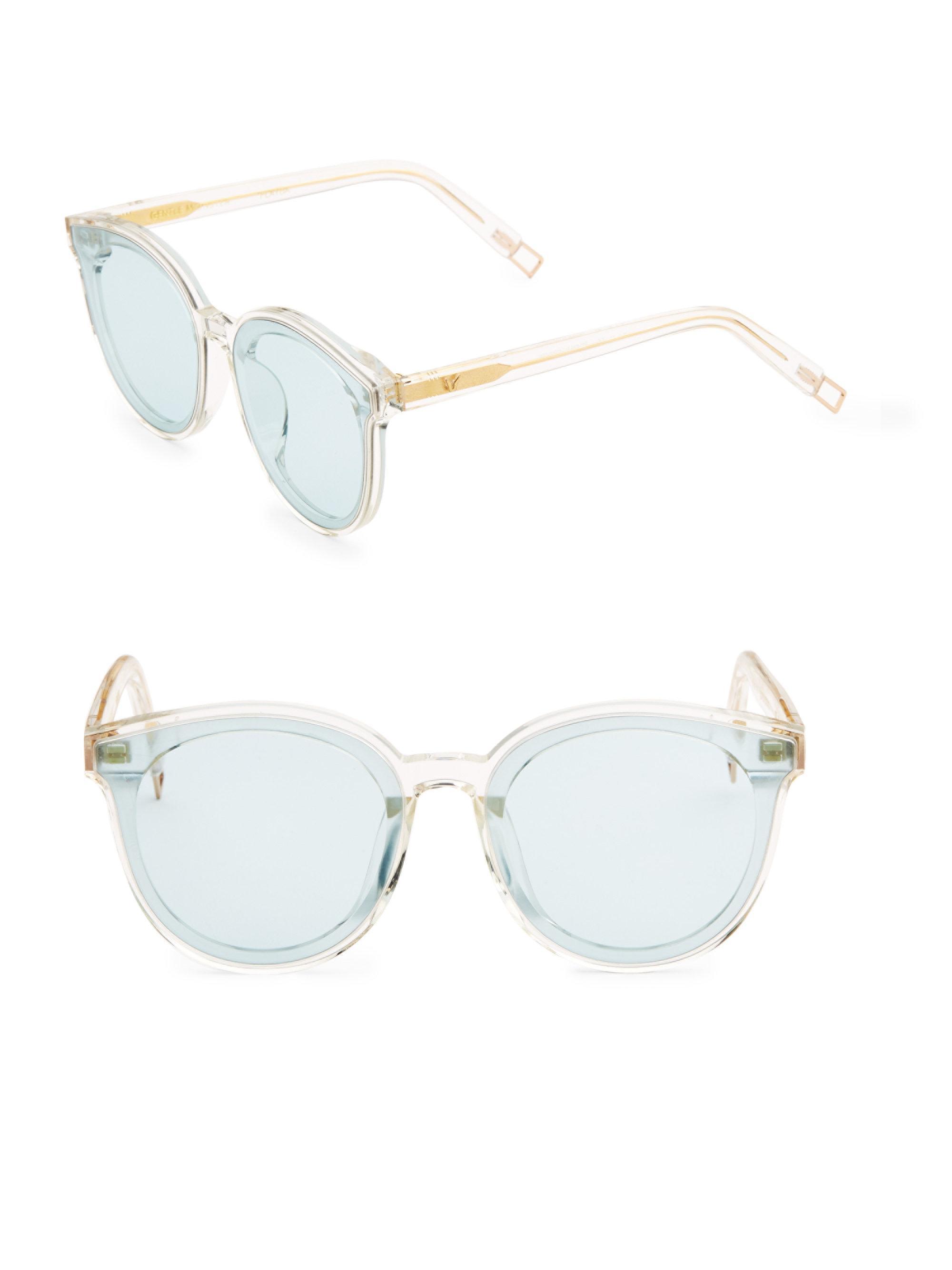 13be61bec9483 Gentle Monster Peter 61mm Wayfarer Sunglasses in Blue - Lyst