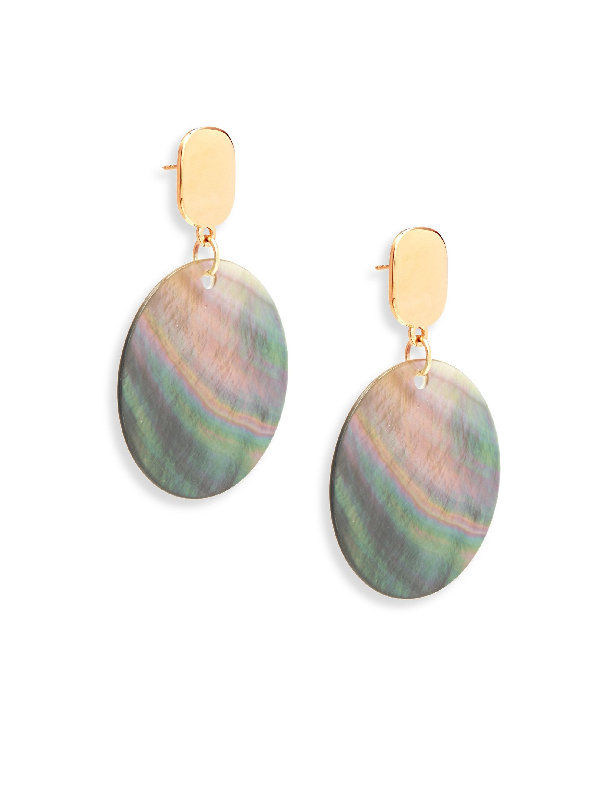 Nest Mother-of-Pearl Cluster Drop Earrings 0zlqVaGig