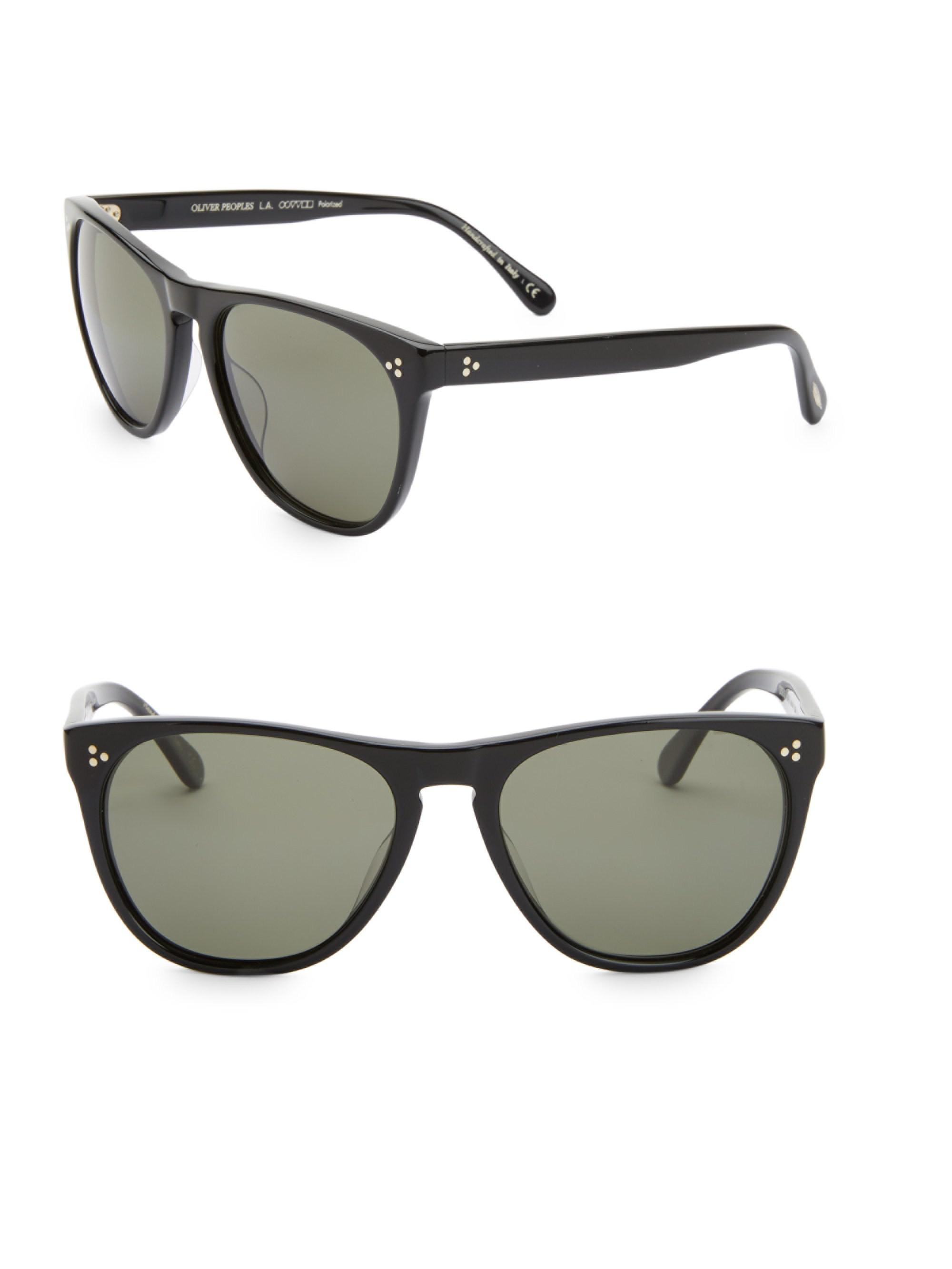 289dd8f6391 Lyst - Oliver Peoples Daddy 58mm Square Sunglasses in Black for Men