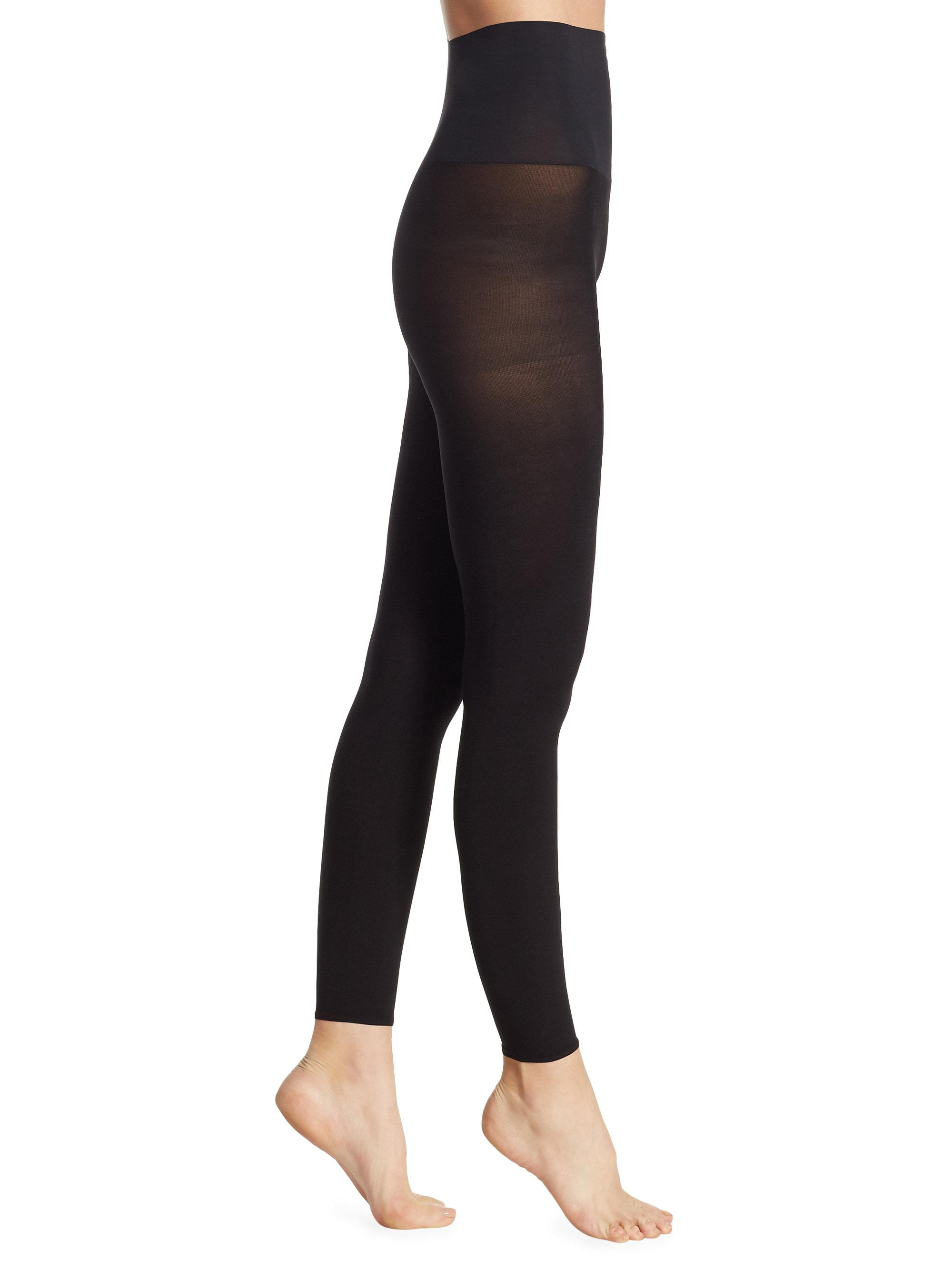 b31891b6ef892 Commando - Black Ultimate Opaque Matte Footless Tights - Lyst. View  fullscreen