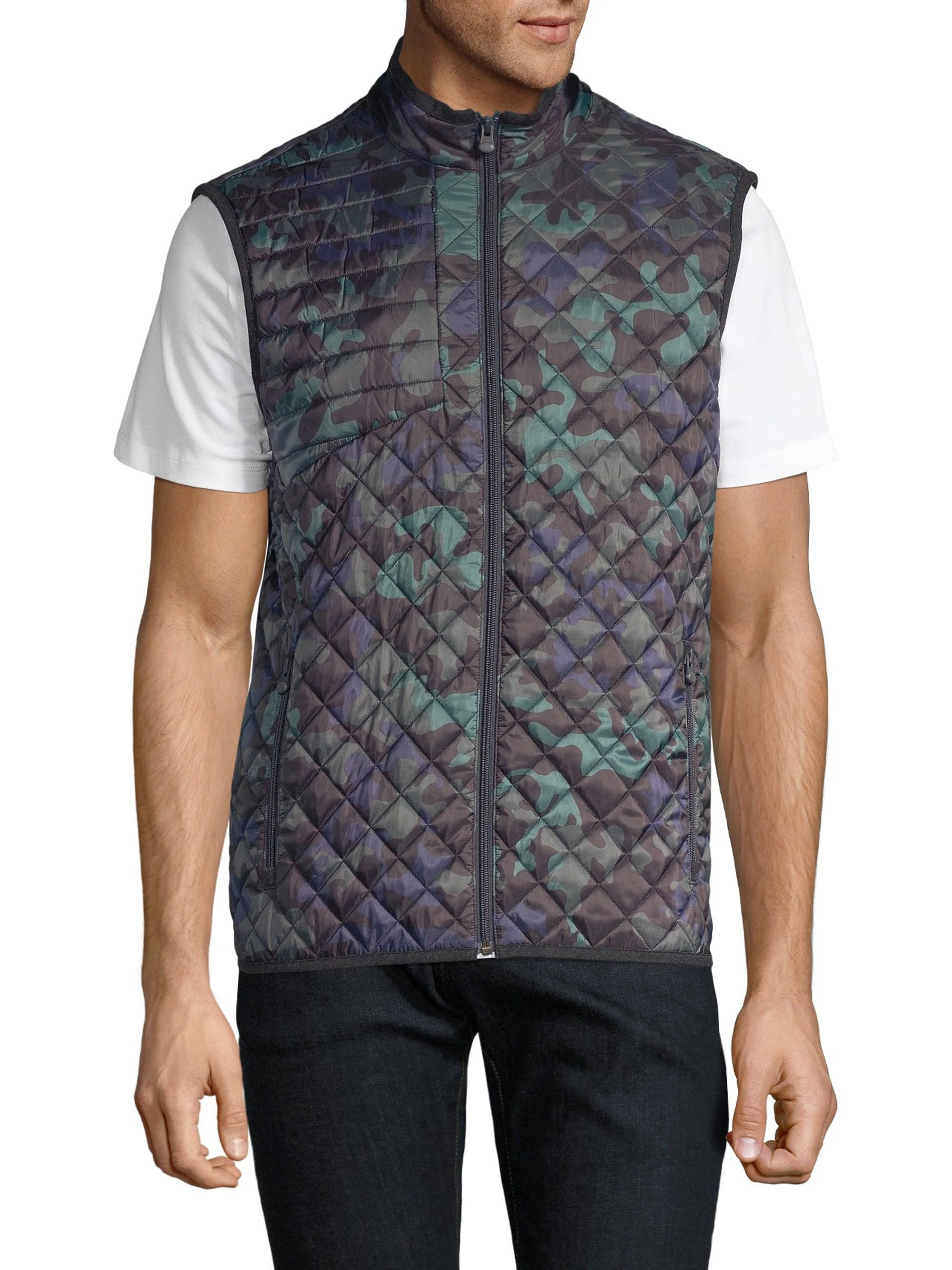 26d7bb7b Greyson - Blue Sioux Quilted Camo Vest for Men - Lyst. View fullscreen