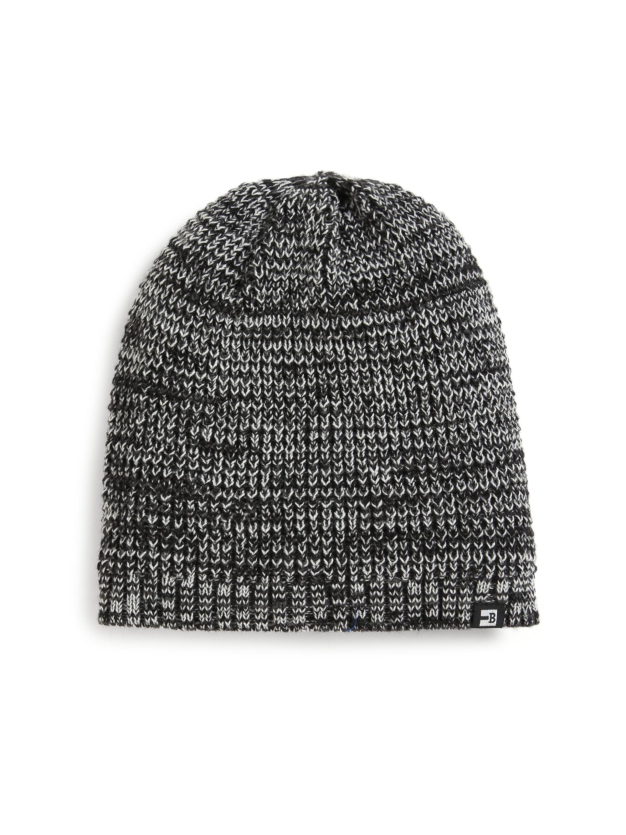 40beacffeea106 Block Headwear Marled Knit Beanie in Black for Men - Lyst