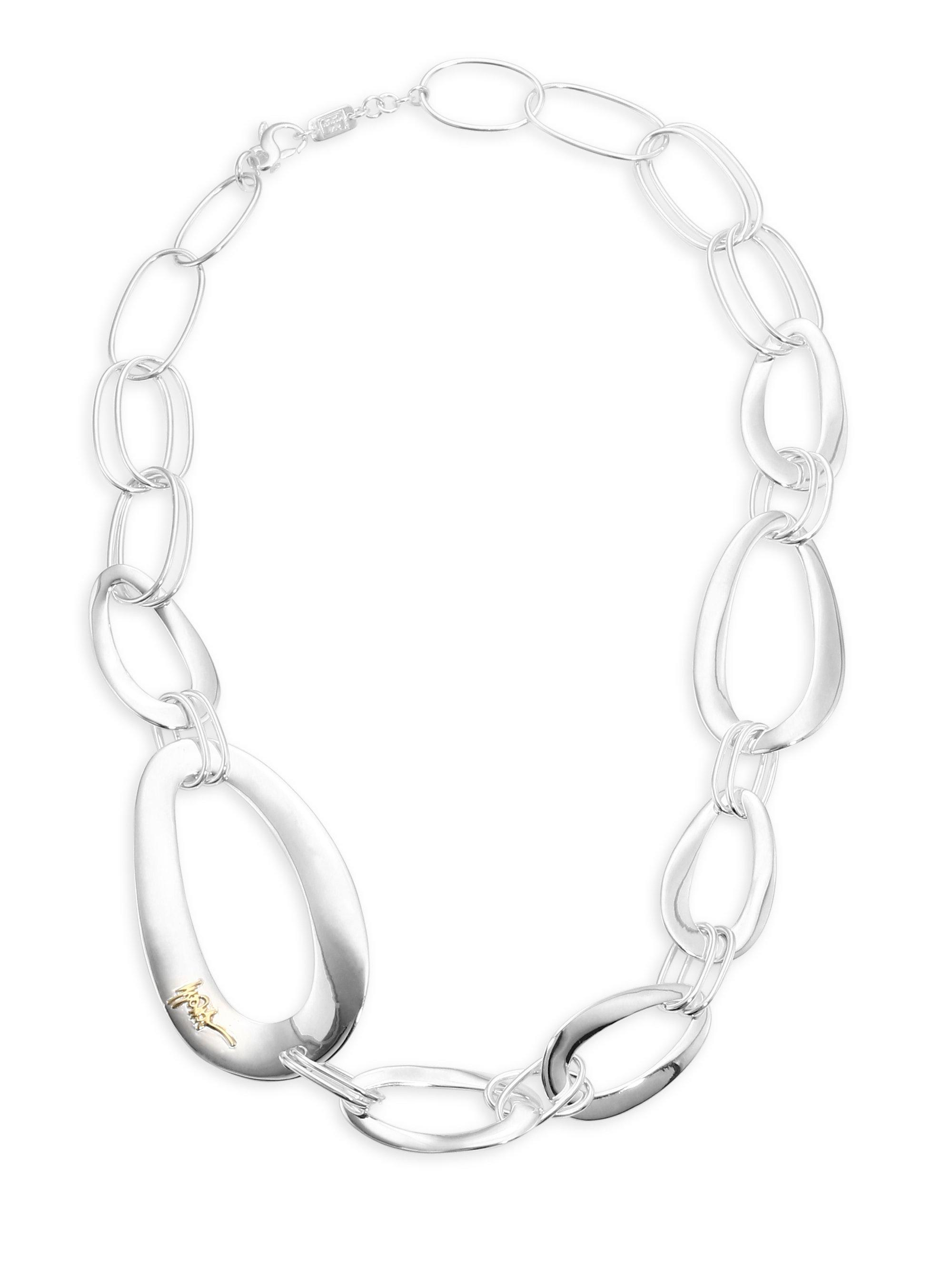 Ippolita Sterling Silver Cherish Link Necklace eCtEuGw
