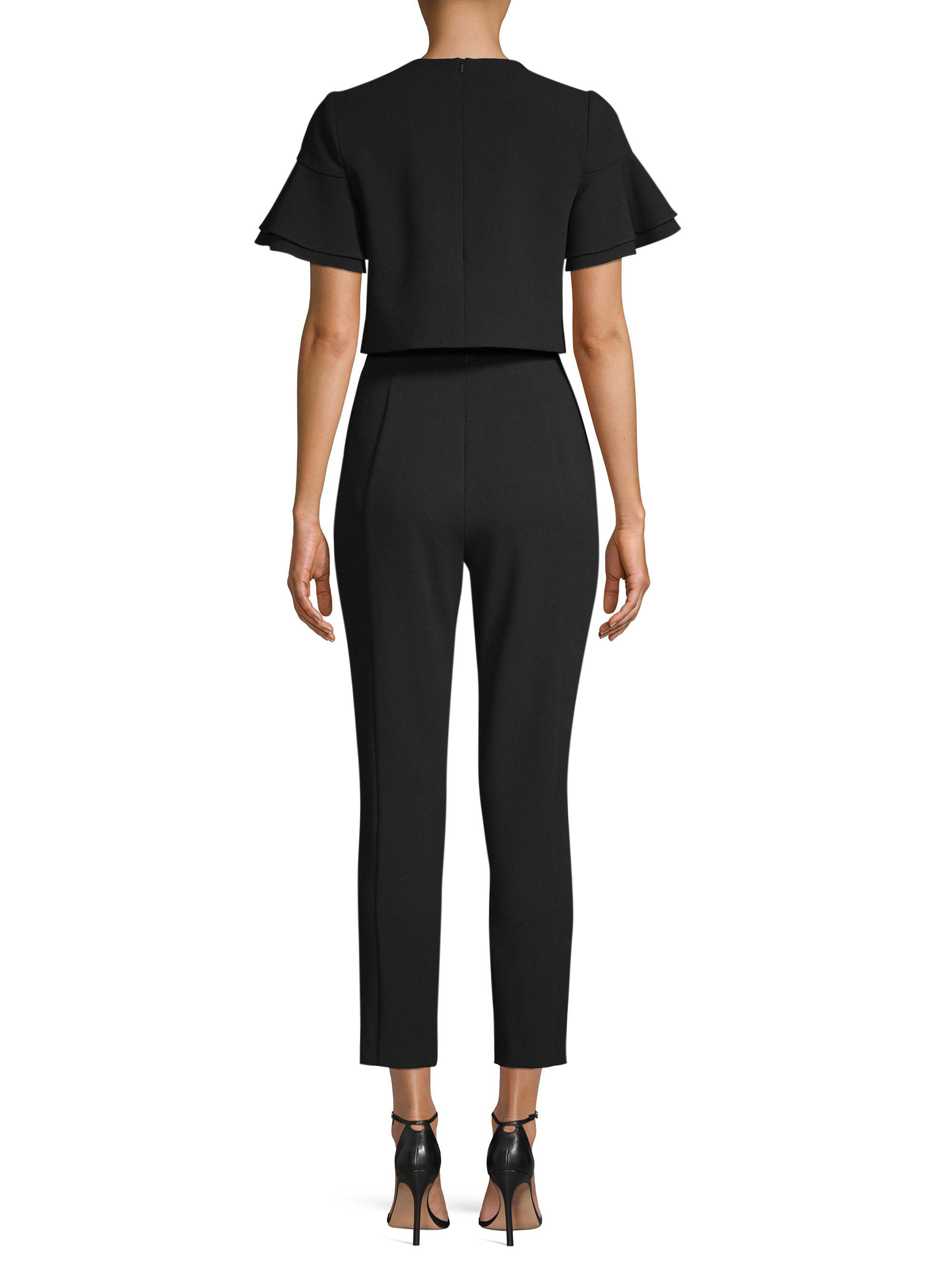 0fd63c380b5 Lyst - Black Halo Syon Two-piece Jumpsuit in Black