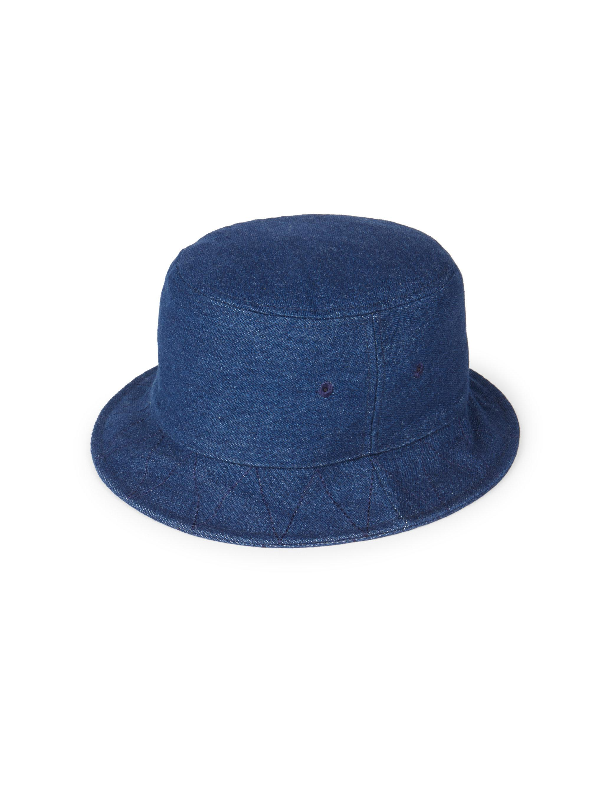 737f9d2c42054 Lyst - AMI Men s Wool Bowler Hat - Indigo in Blue for Men