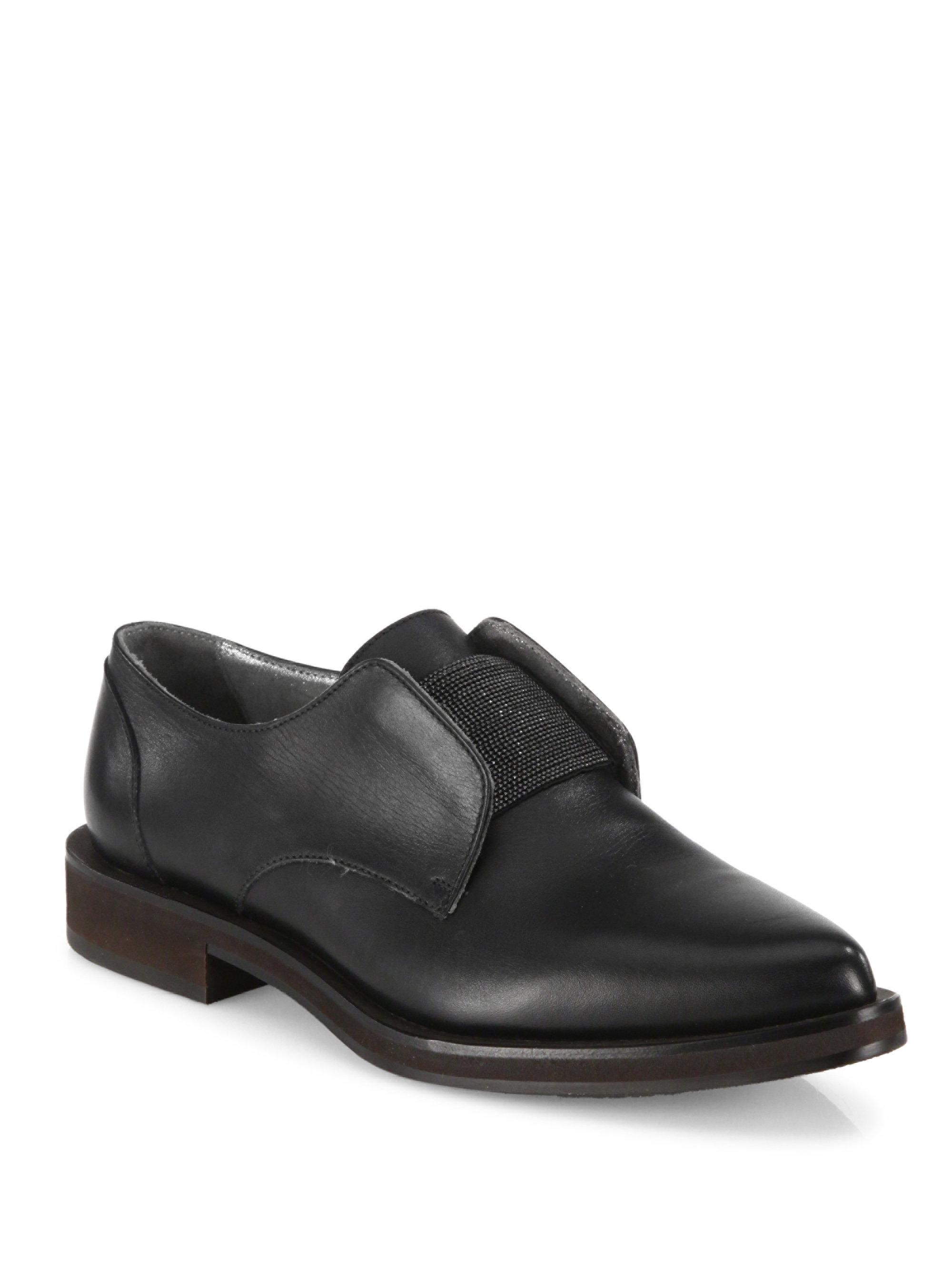 Brunello Cucinelli Patent Leather Round-Toe Loafers buy cheap shop offer fake cheap price Yp6ciSO
