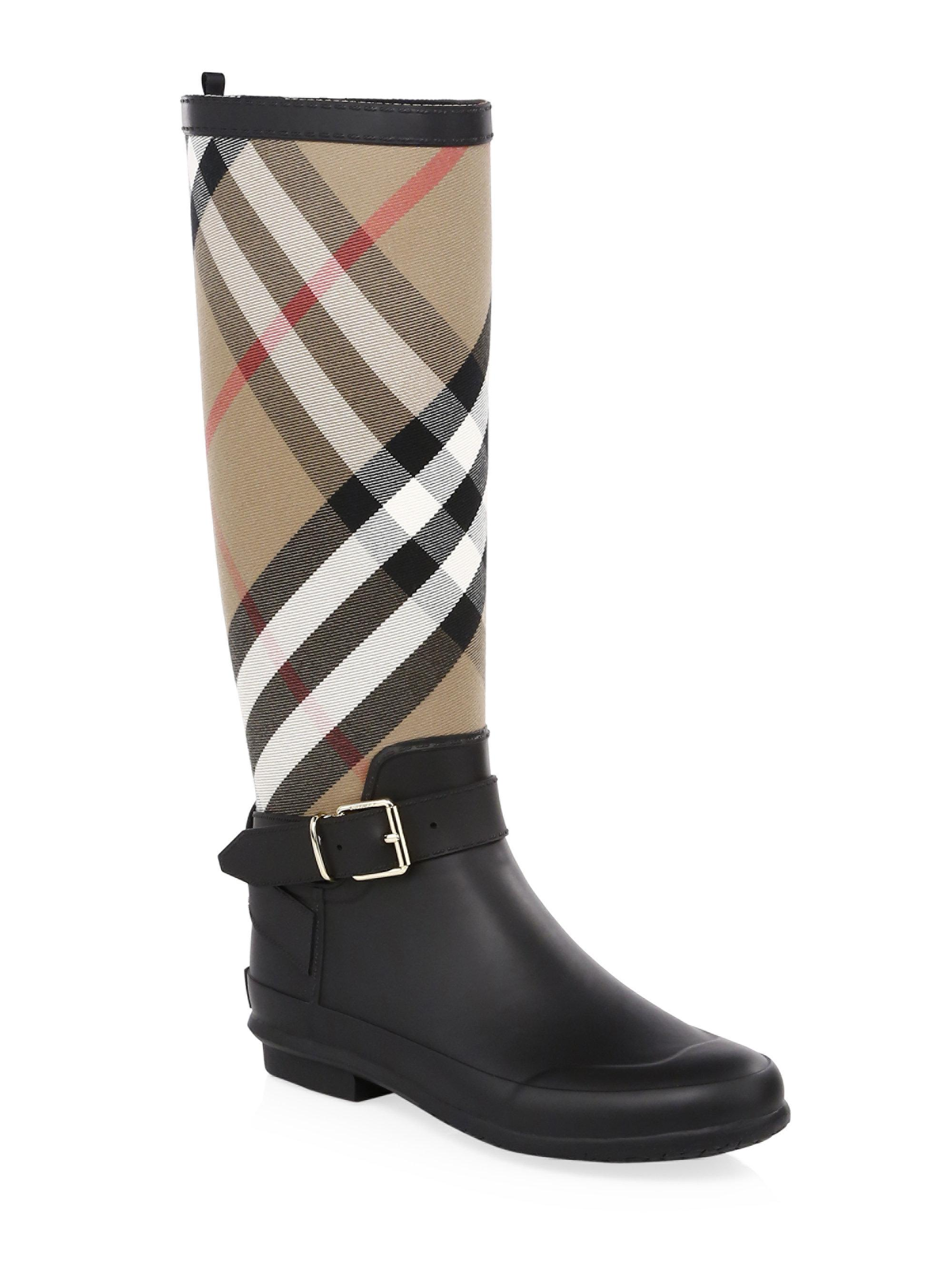 Burberry Simeon Knee-High Riding Boots XFZocS4CL