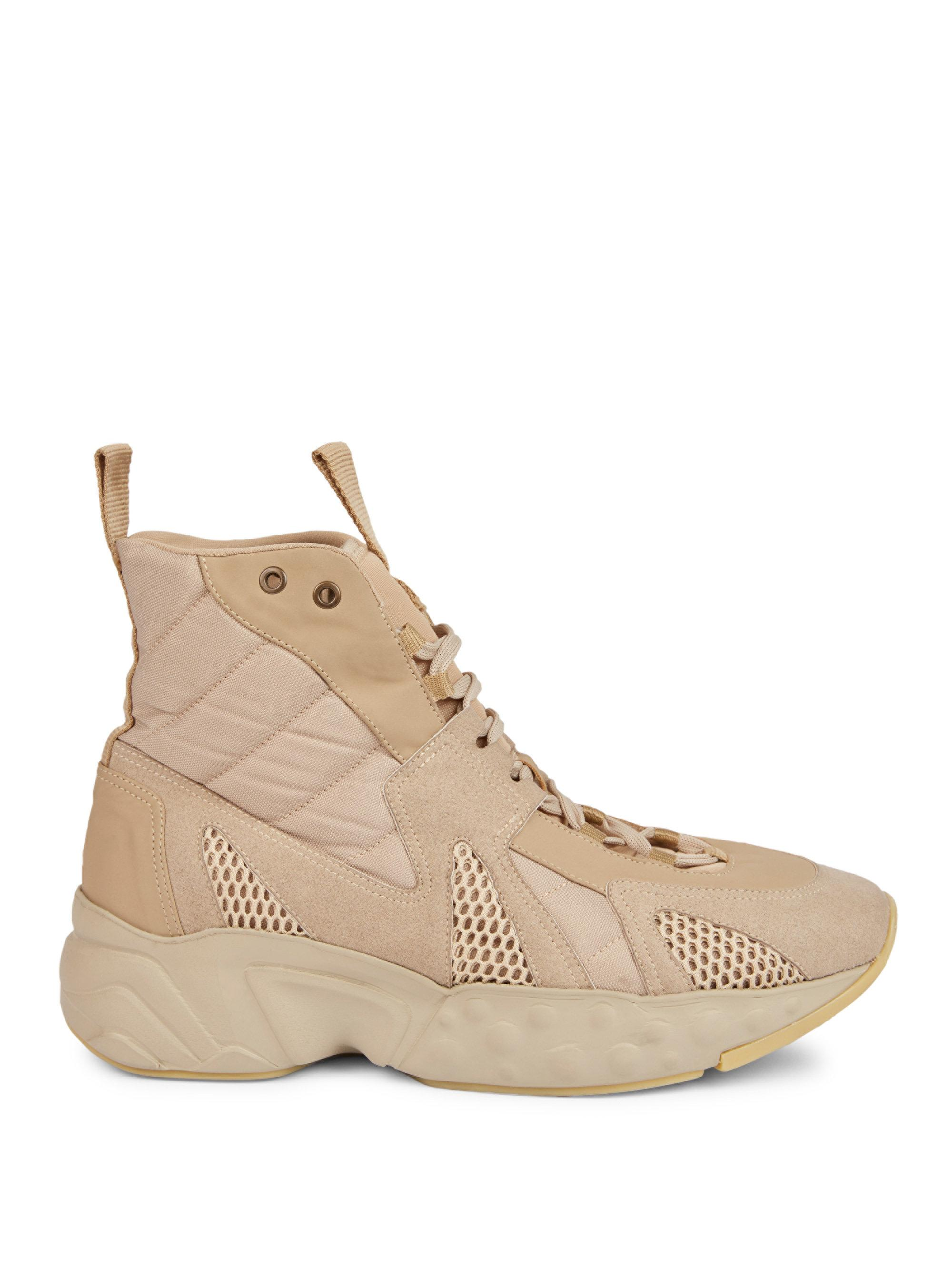 Top 5 High End Chunky Sneakers of the Year 2017 chunky sneakers Top 5 High End Chunky Sneakers of the Year 2017 acne beige Sami Quilt Mesh Sneakers
