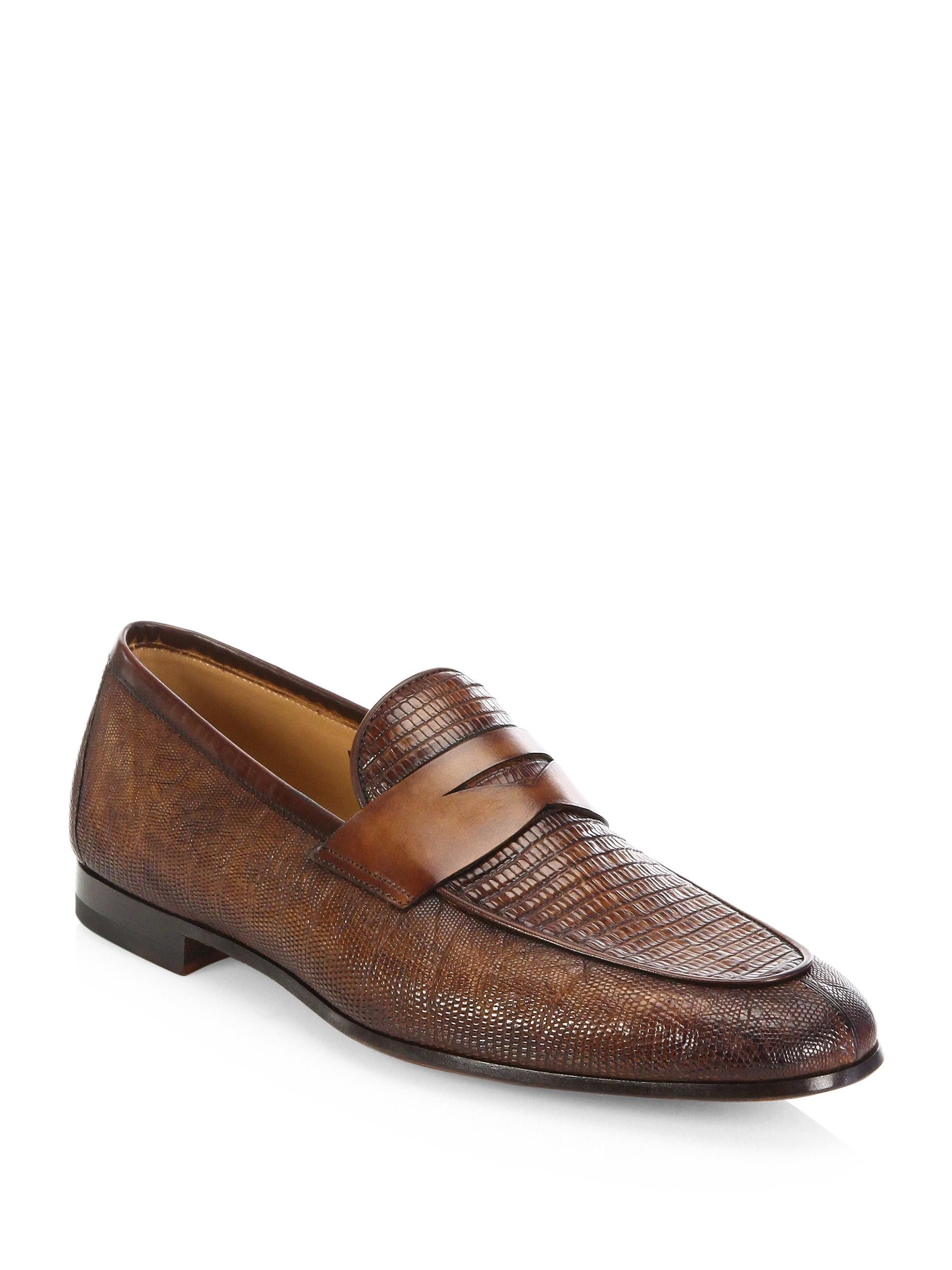 Saks Fifth AvenueCOLLECTION BY MAGNANNI Leather Double Monkstrap Loafers 4hDsFydE