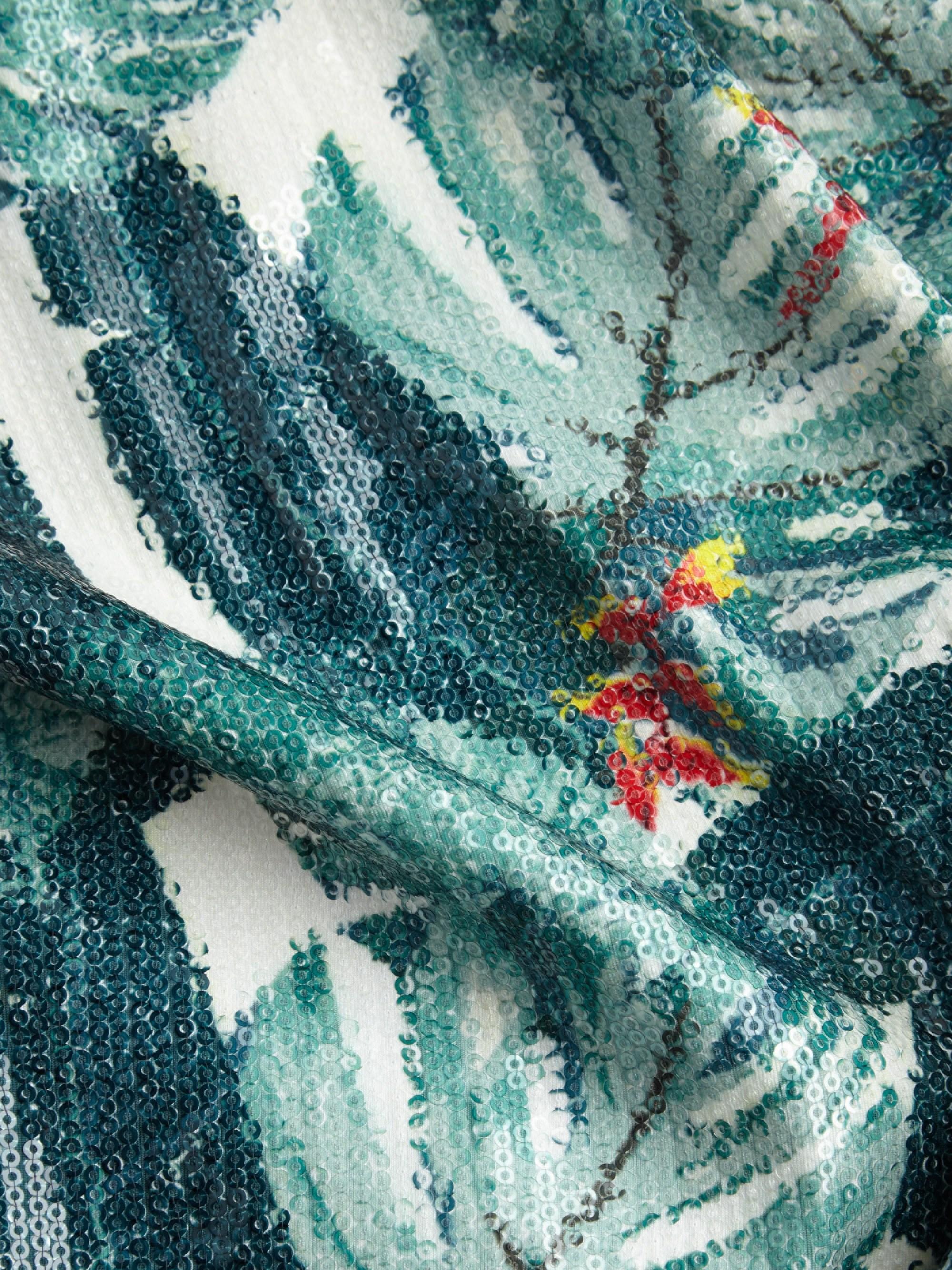 bf092884243a Rachel Zoe Women's Amelia Sequin Dress - Size 4 in Green - Lyst