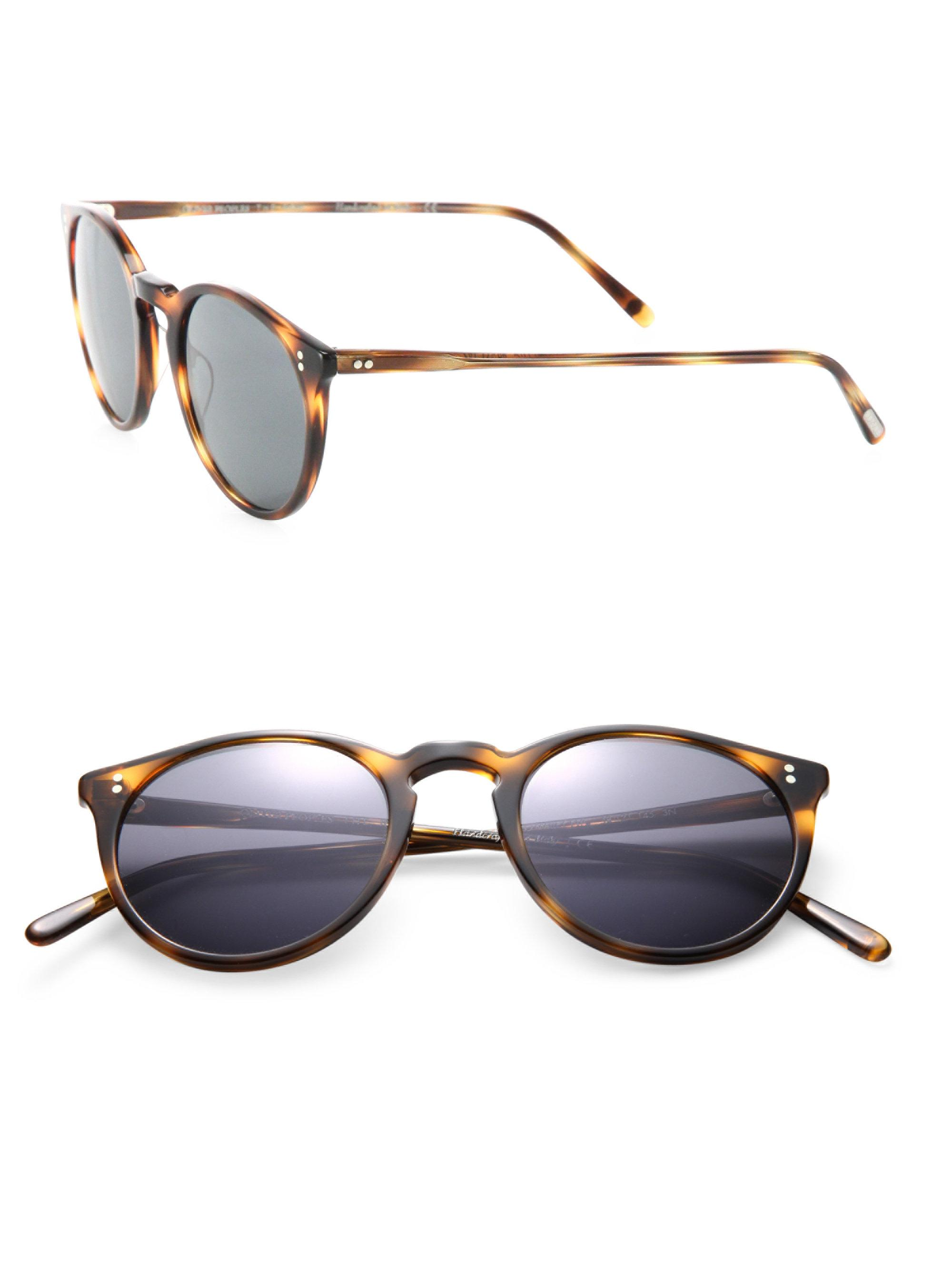 Lyst - Oliver Peoples The Row For Oliver Peoples O\'malley Nyc 48mm ...
