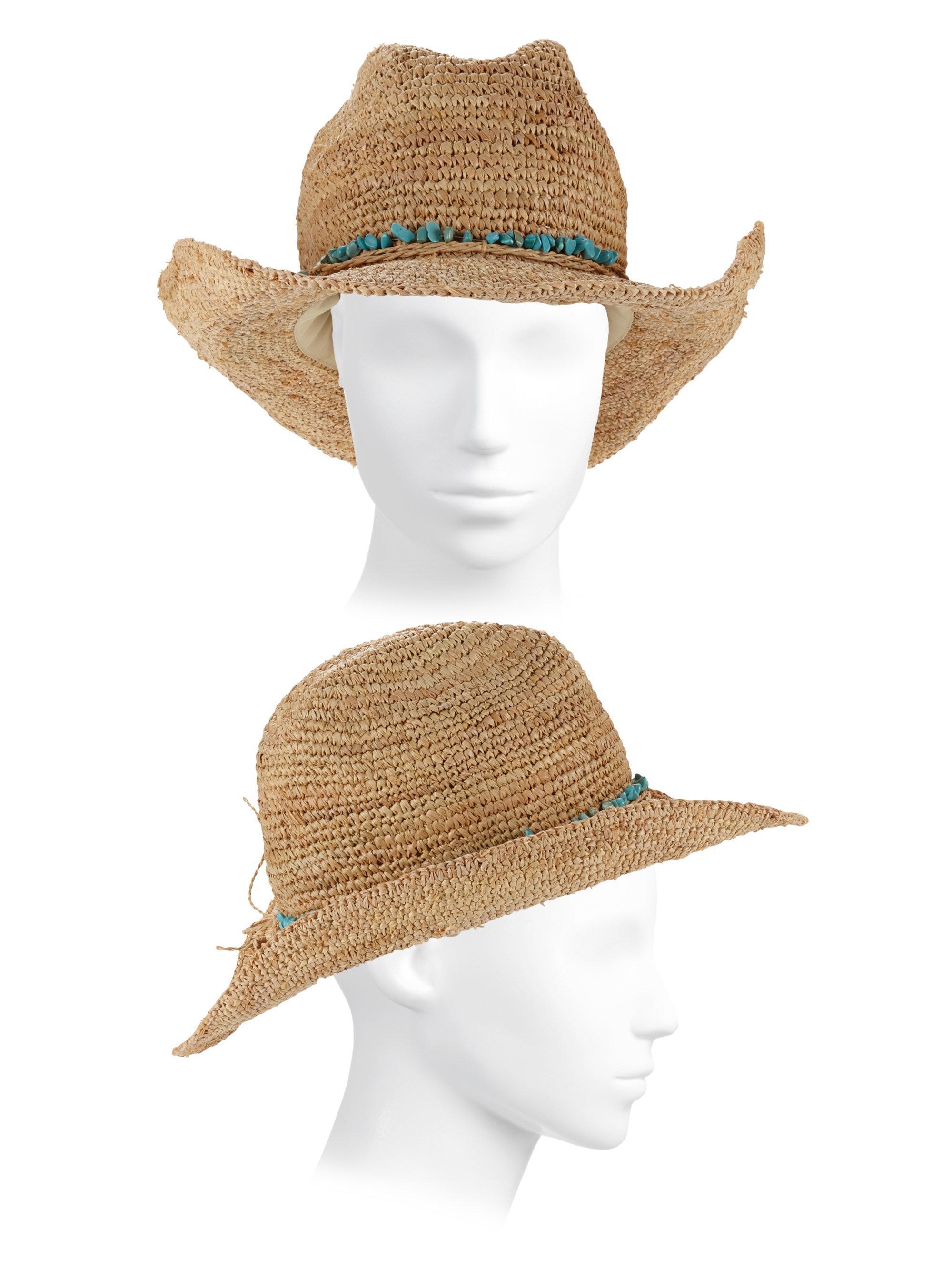 Melissa Odabash - Natural Elle Cowboy Hat - Lyst. View fullscreen 487600abae00