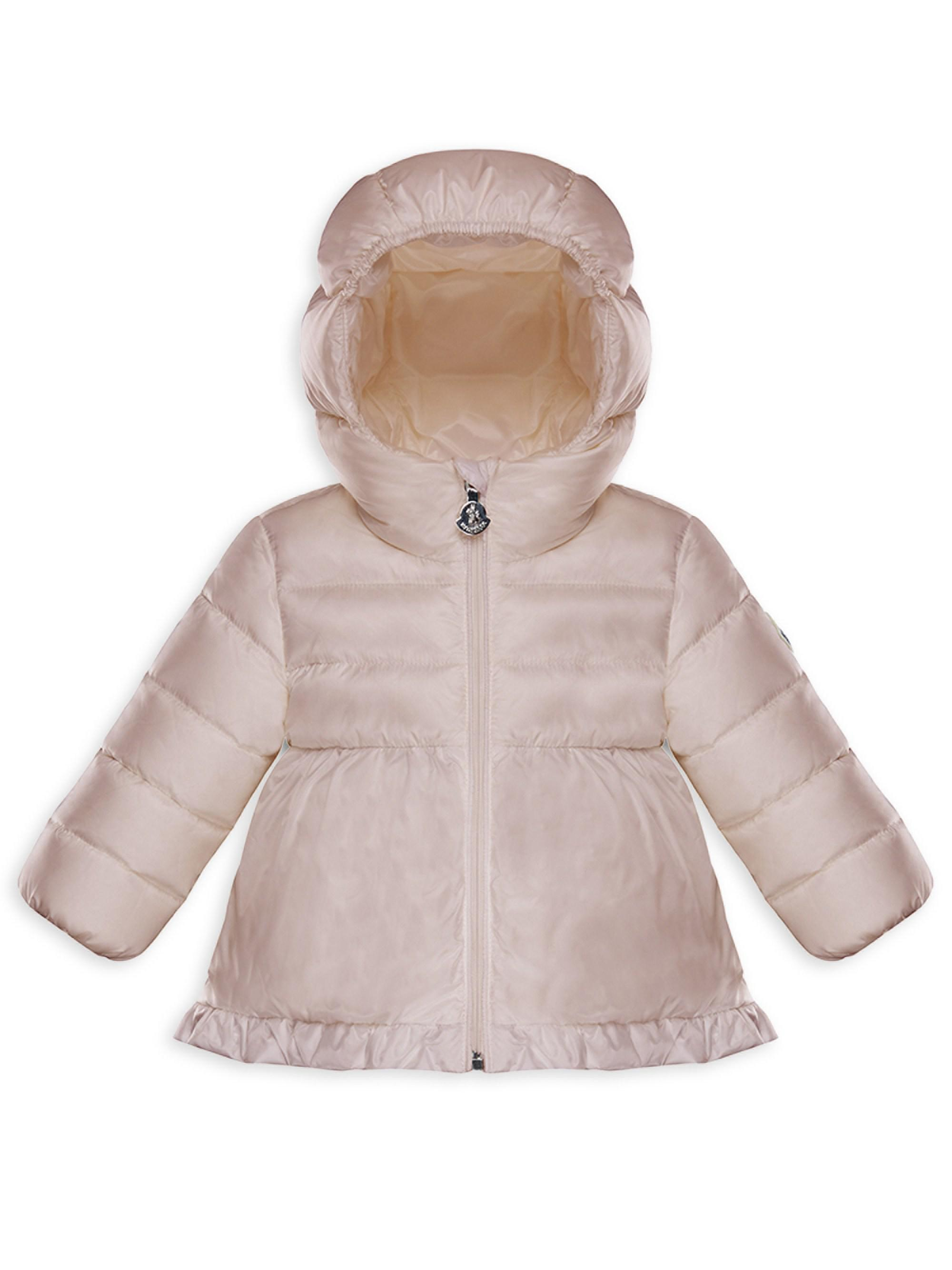 bb6b4e51104 Moncler Baby Girl s   Little Girl s Odile Jacket in Pink - Save 5 ...