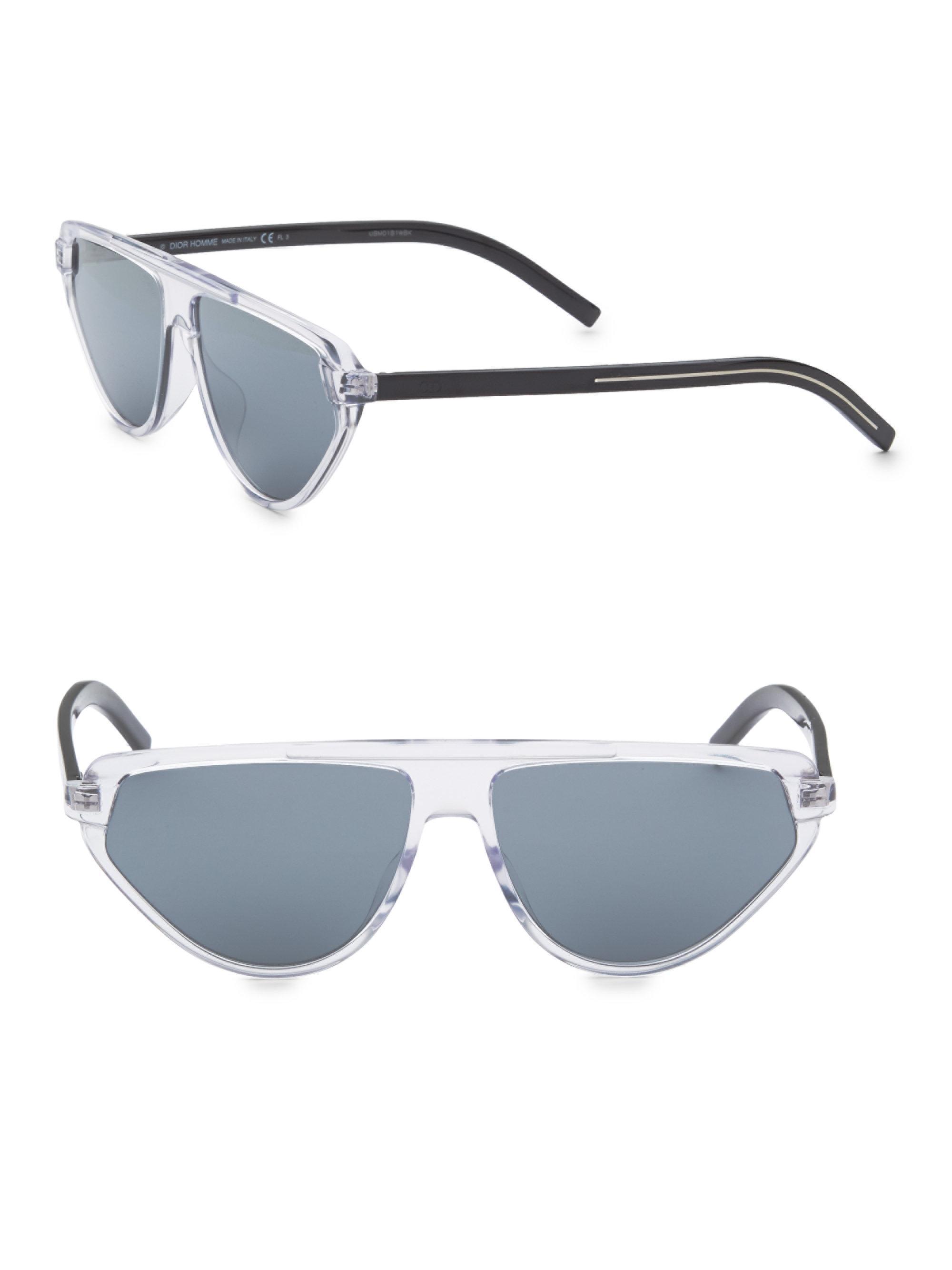 97d521e2bbd Dior Homme 60mm Aviator Sunglasses for Men - Lyst