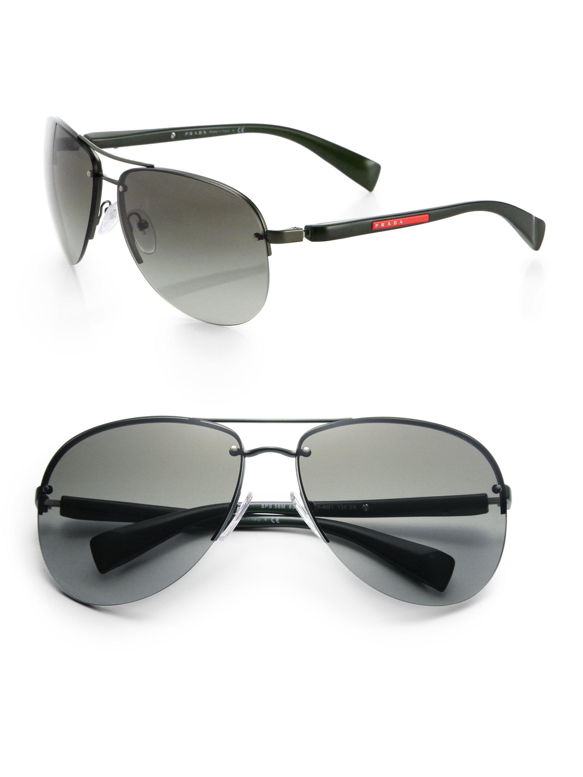 f6ebc6f57669 Prada Oversized Polarized Sunglasses