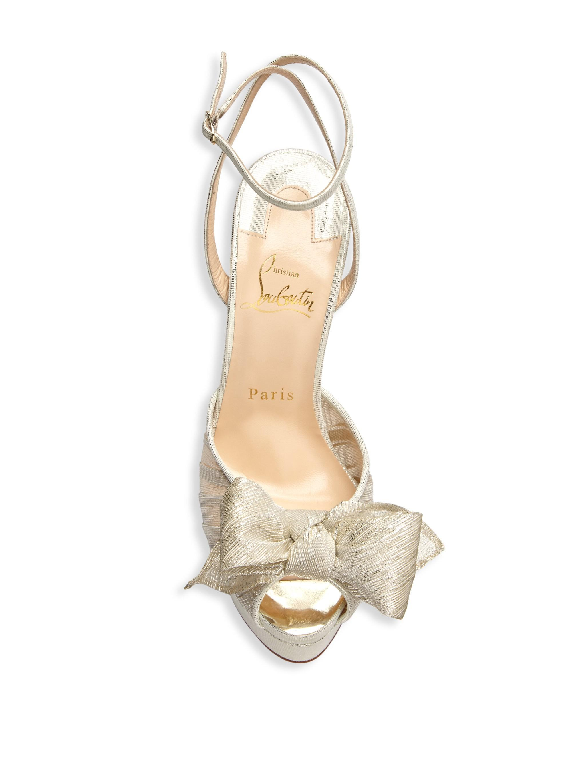 9e5b75fdb7 Christian Louboutin Artydiva 150 Platform Ankle-strap Sandals in ...