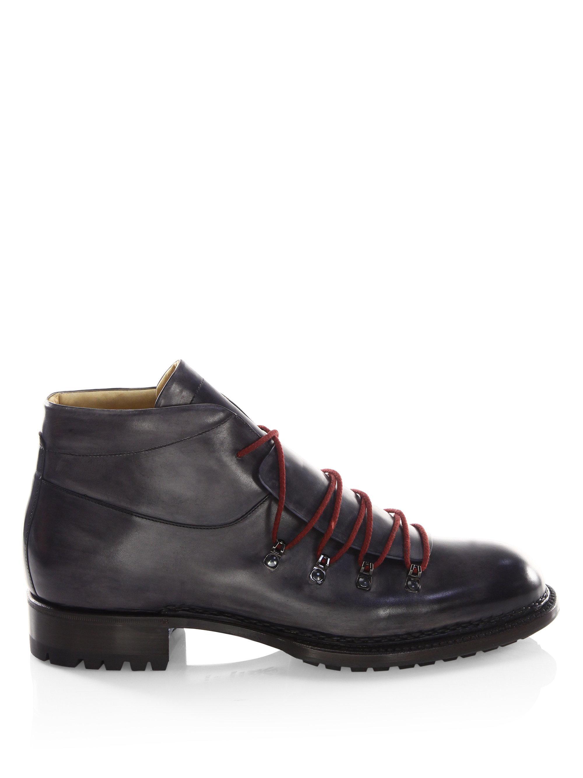 SUTOR MANTELLASSI Boris Master Leather Hiking Boots mIFjP6H