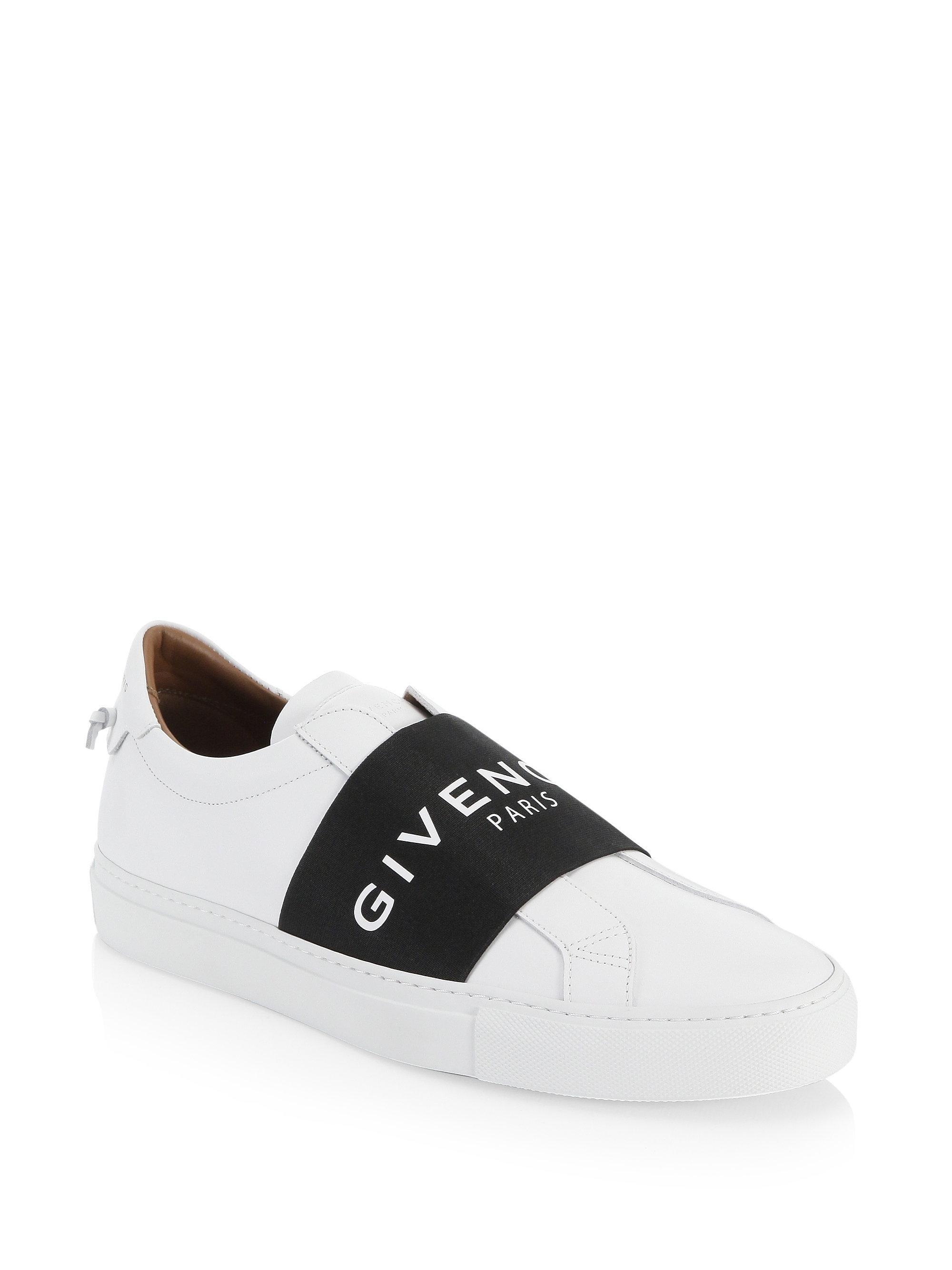 Givenchy Silver Metallic Knit Logo Sneakers 7mRcoa6PL