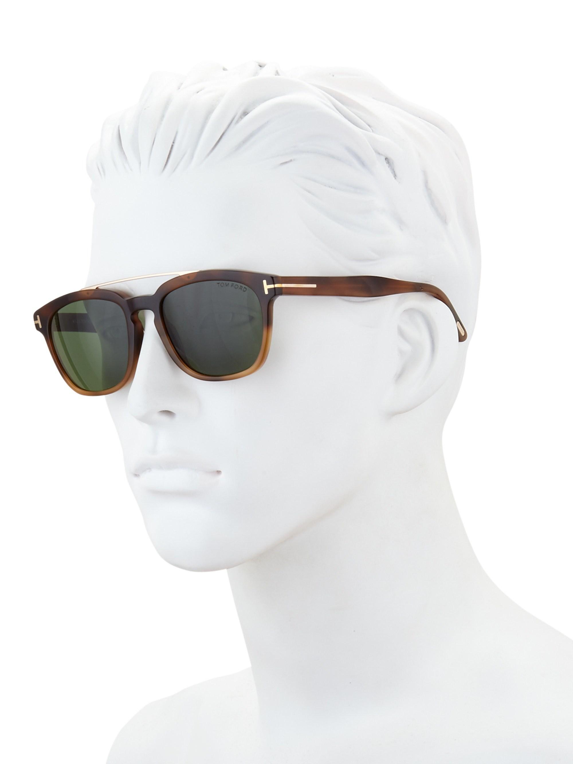 9682858f08 Lyst - Tom Ford Holt 54mm Square Sunglasses for Men