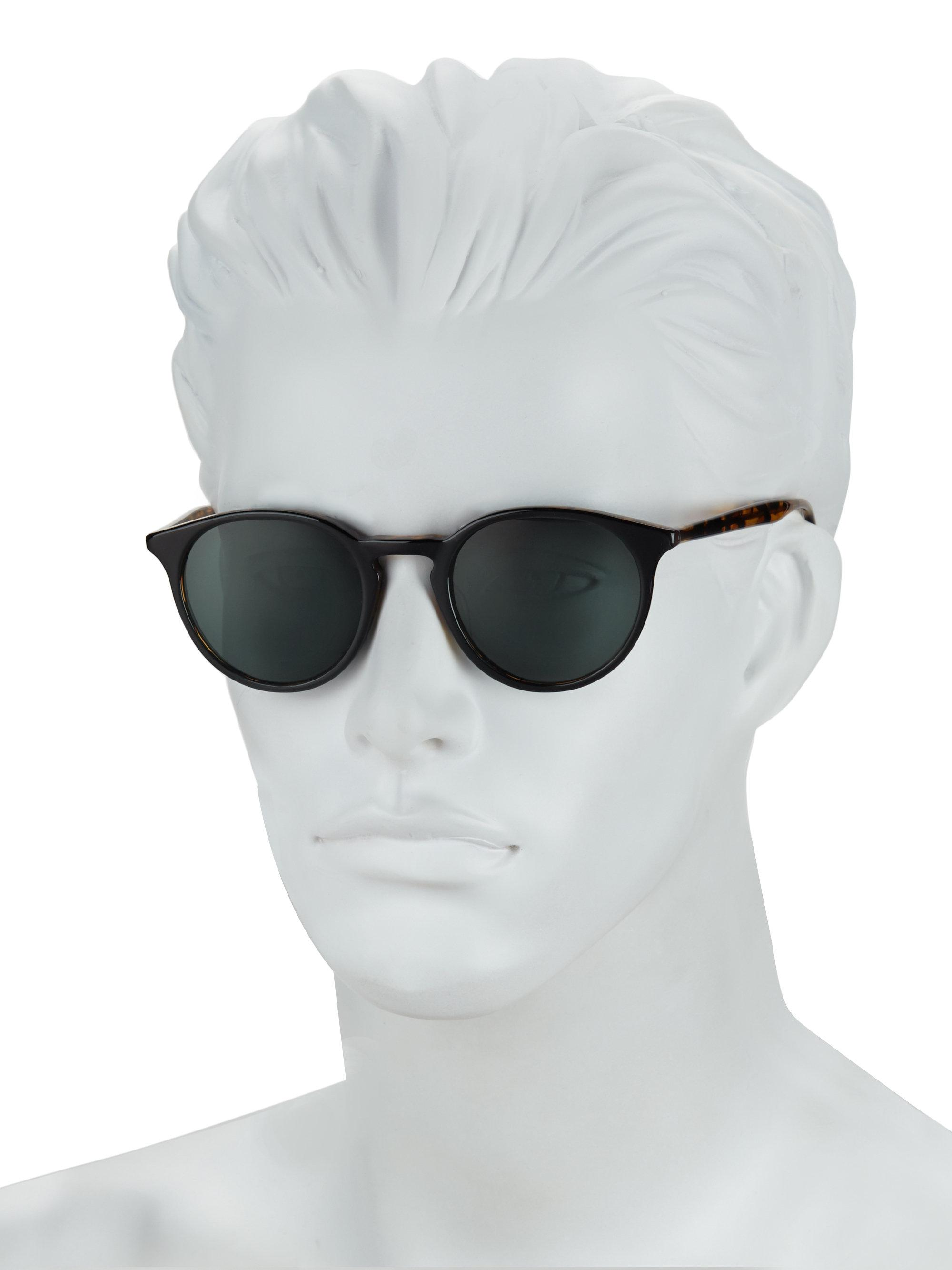 Lyst - Barton Perreira Round Sunglasses for Men