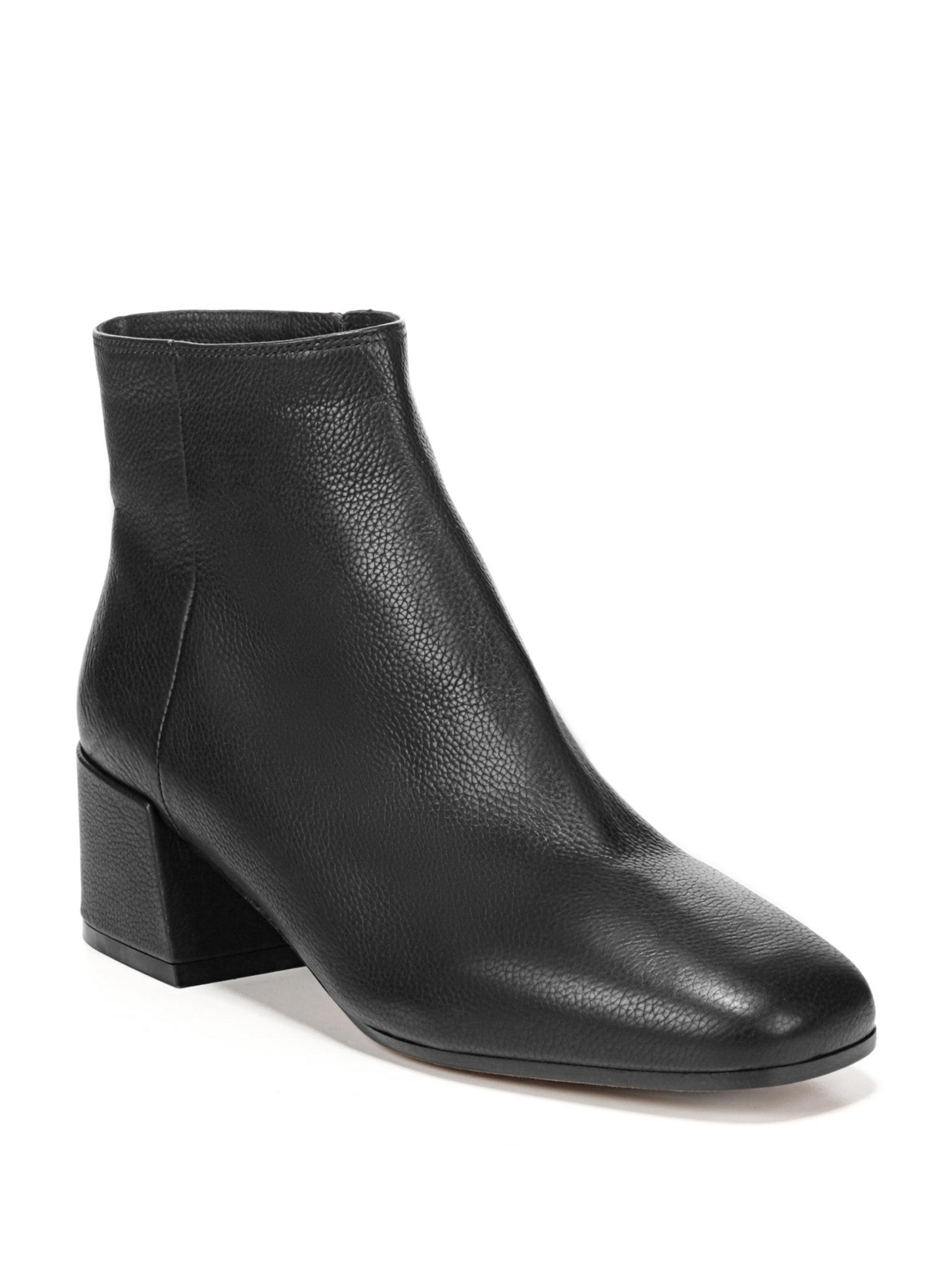 Lyst Vince Ostend Leather Chelsea Boots In Black