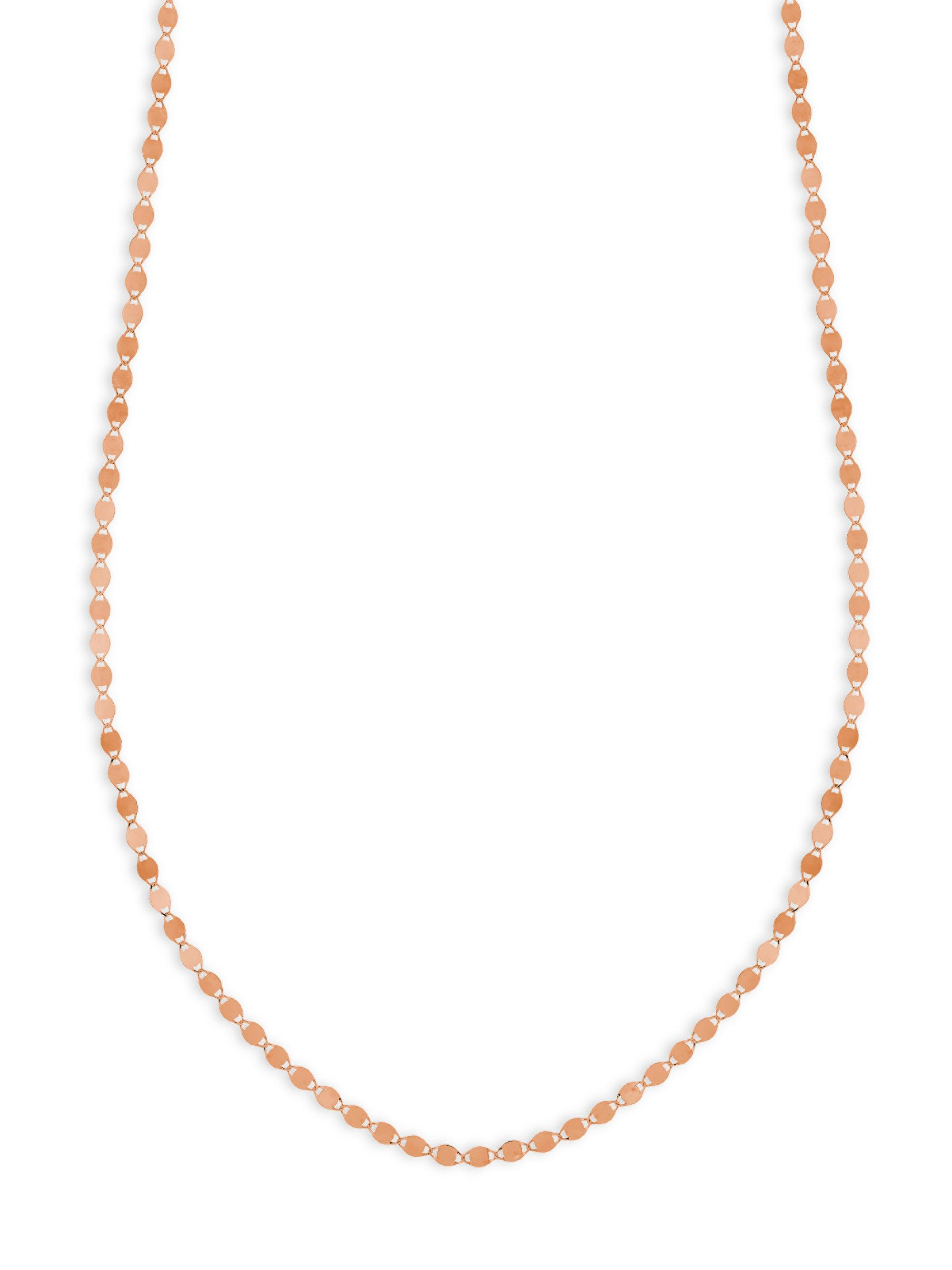 Lana Jewelry Short Nude Three-Strand Necklace, 16