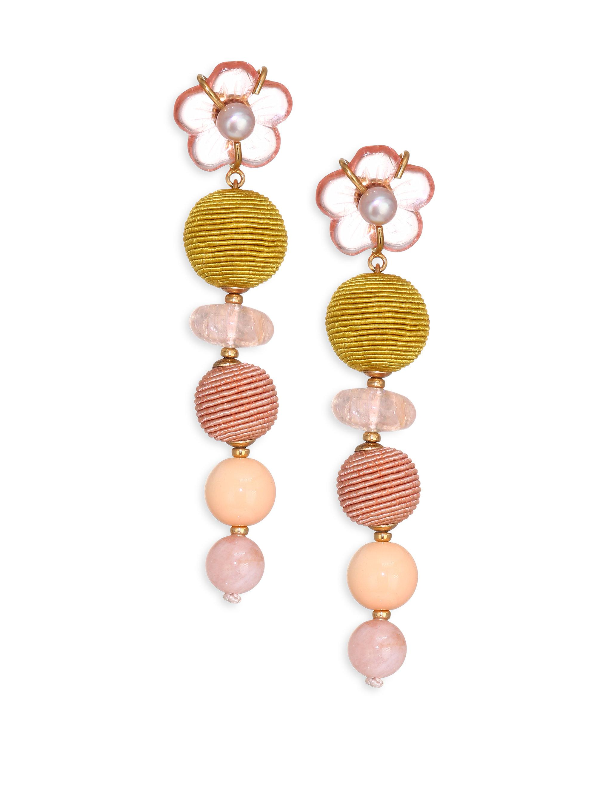 Lizzie Fortunato Meadow earrings - Metallic 6J6p30MS