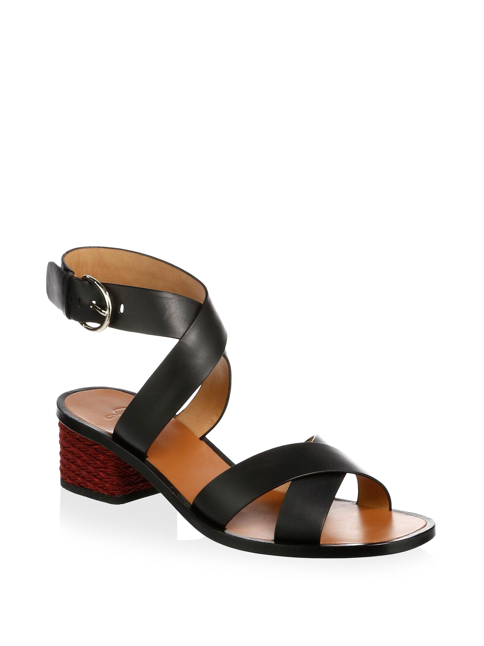 Joie Rana Leather Ankle Strap Sandals f1Vk2lZHp