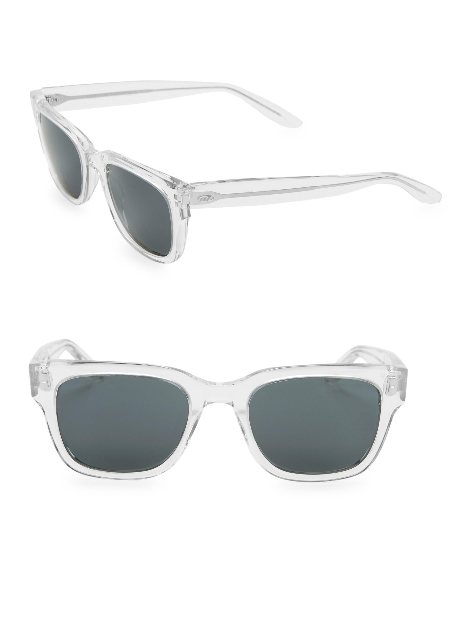 d0902596ddbb Lyst - Barton Perreira Stax Crystal 50mm Square Sunglasses for Men