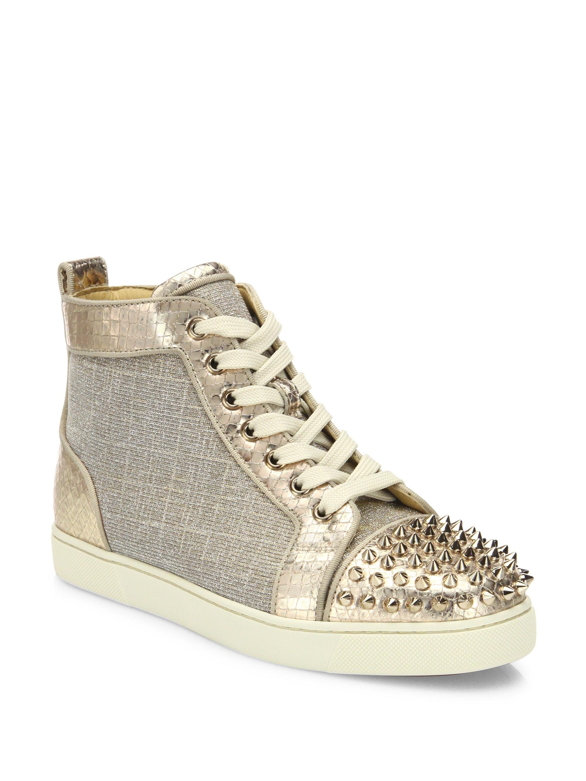 05402d4bbecc Gallery. Previously sold at  Saks Fifth Avenue · Women s Christian  Louboutin Spike