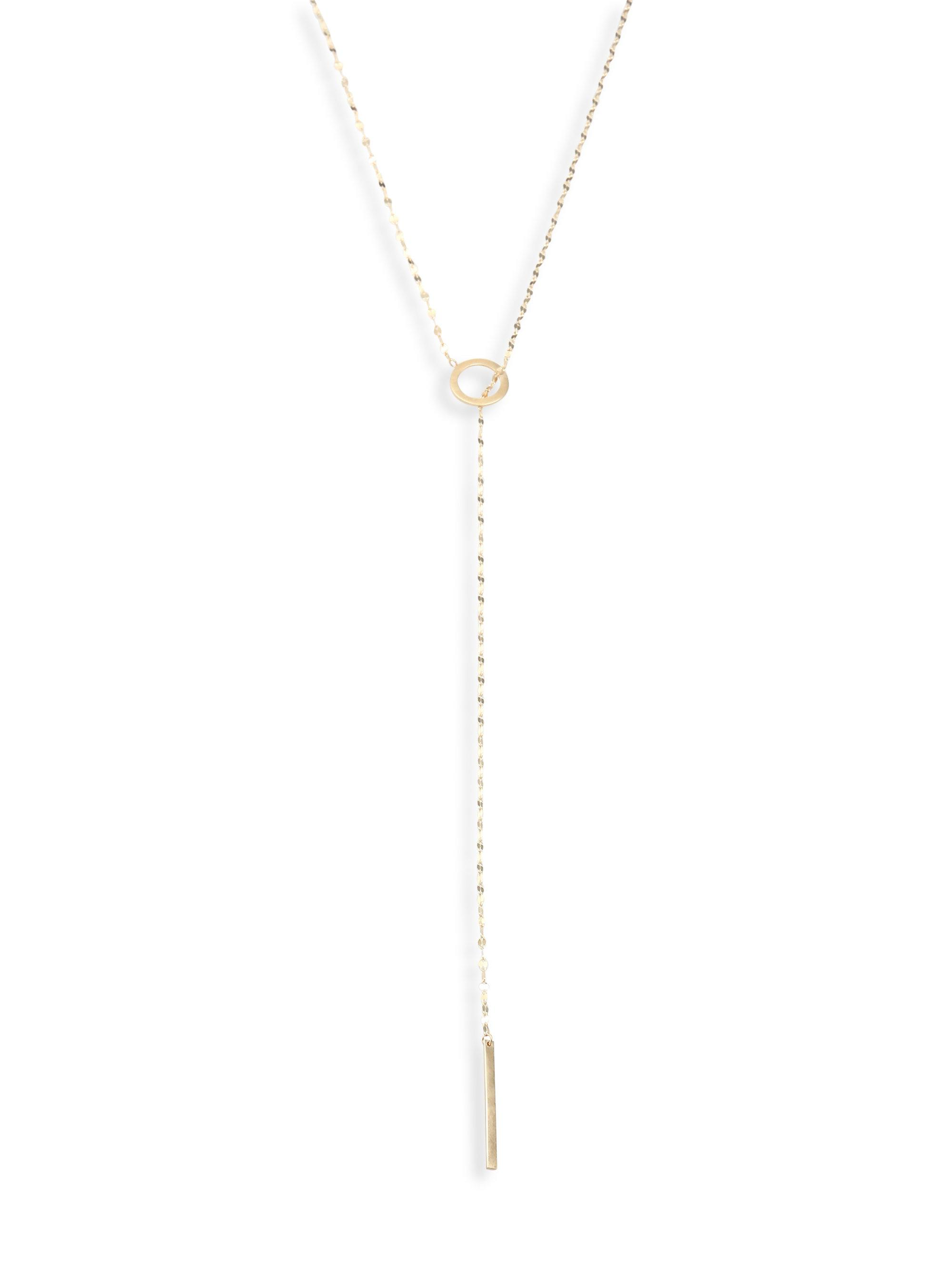Lana Jewelry Bond 14K Long Link Necklace, 36
