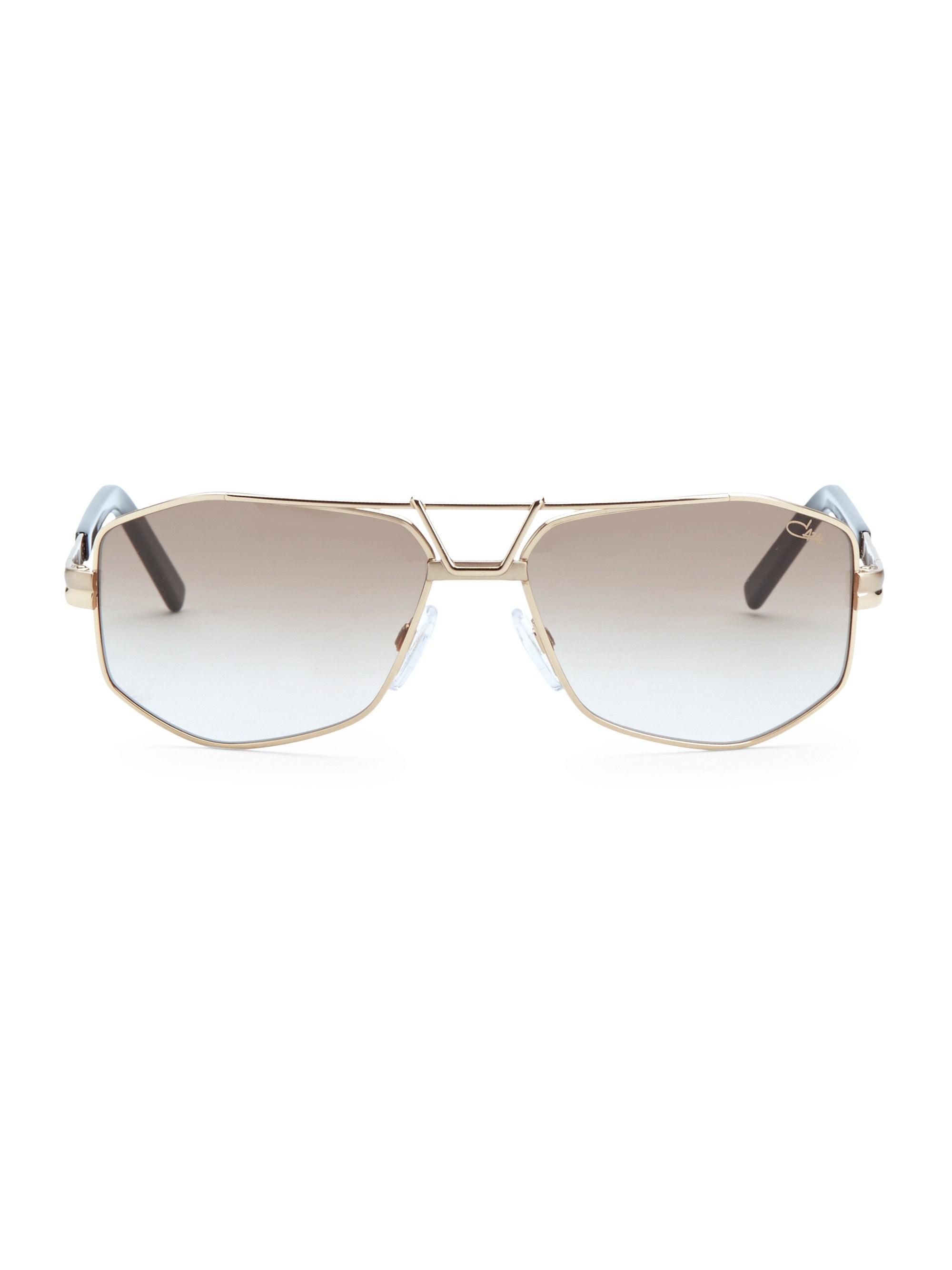 843e4658e4 Lyst - Cazal 61mm Modified Aviator Sunglasses in Metallic for Men