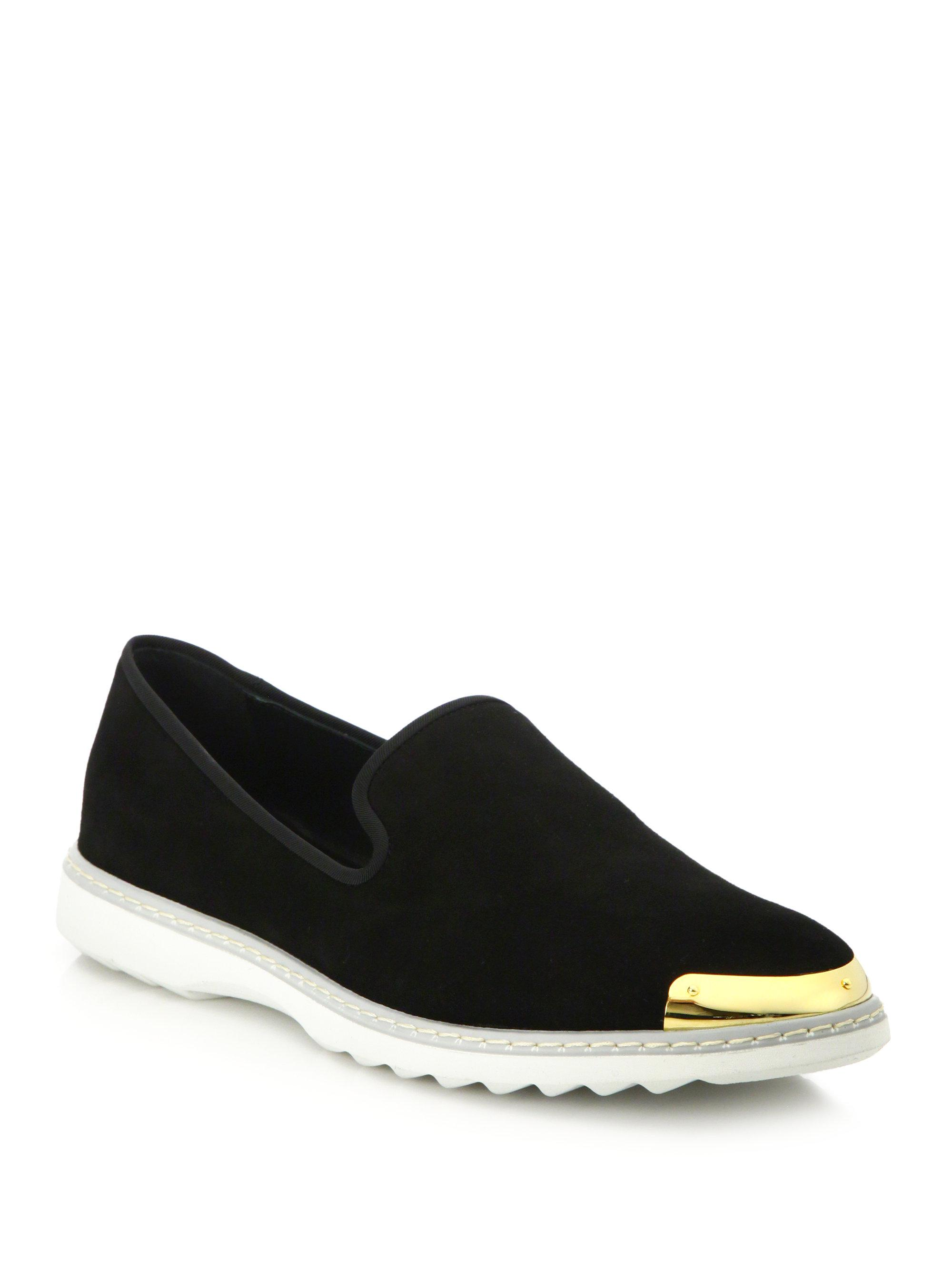 Giuseppe ZanottiSuede Slip-On Sneakers DETHEDV