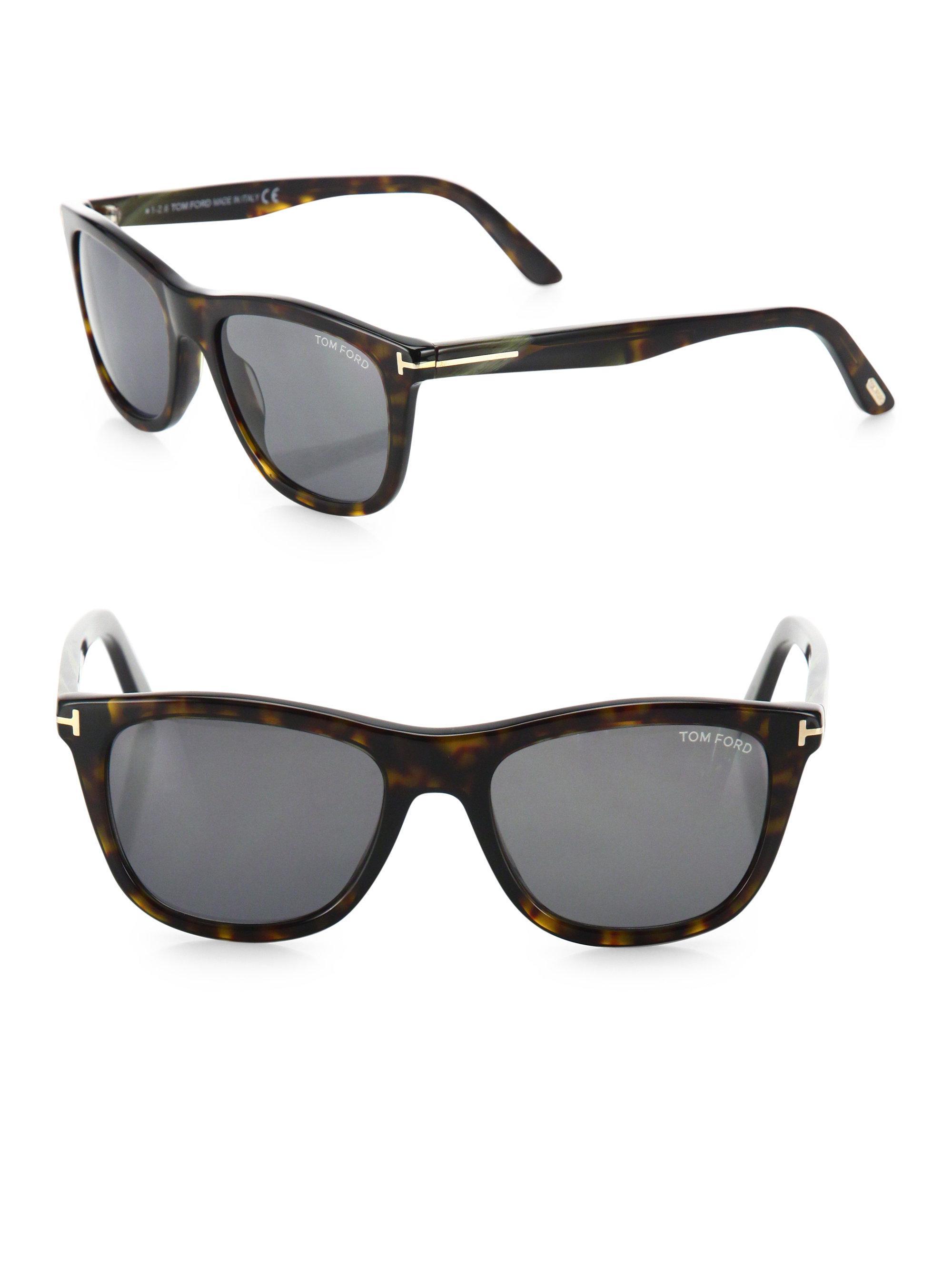 a867c3650ee Tom Ford - Black Andrew 54mm Square Sunglasses for Men - Lyst. View  fullscreen