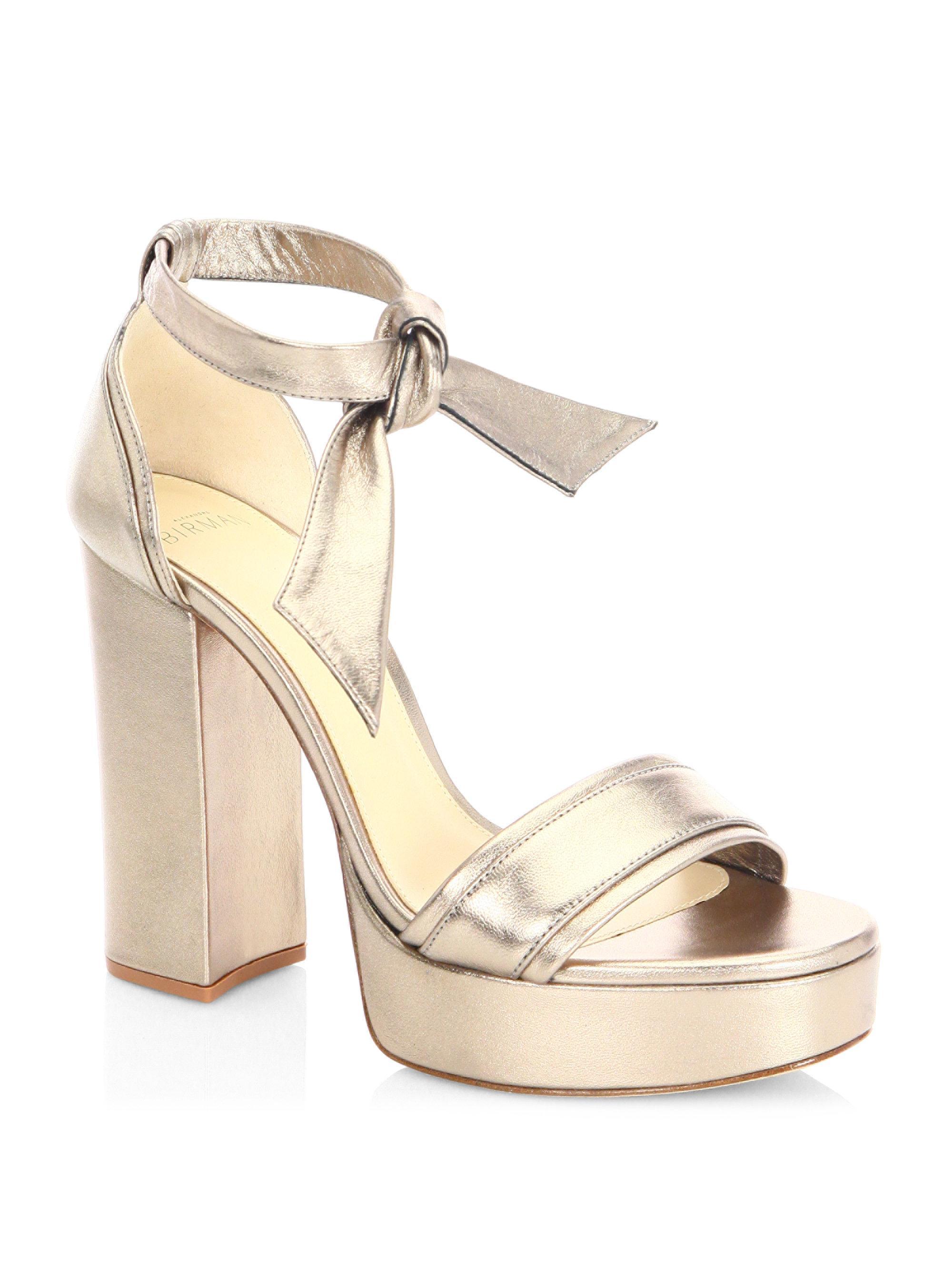 420cab2d57 Alexandre Birman Celine Platform Sandals - Lyst