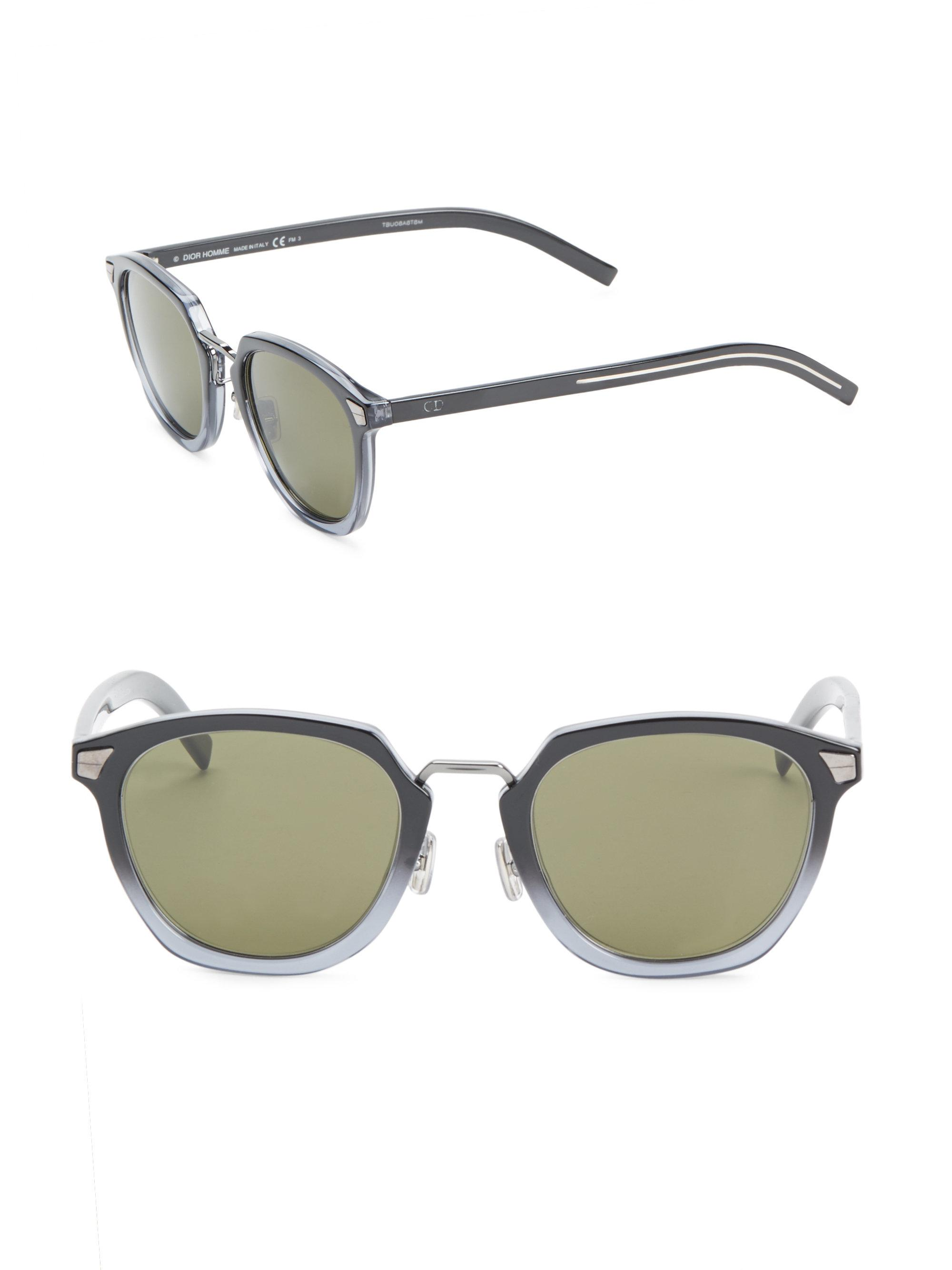 c2e3ccad40f Lyst - Dior Homme Dior Tailoring1 51mm Sunglasses for Men