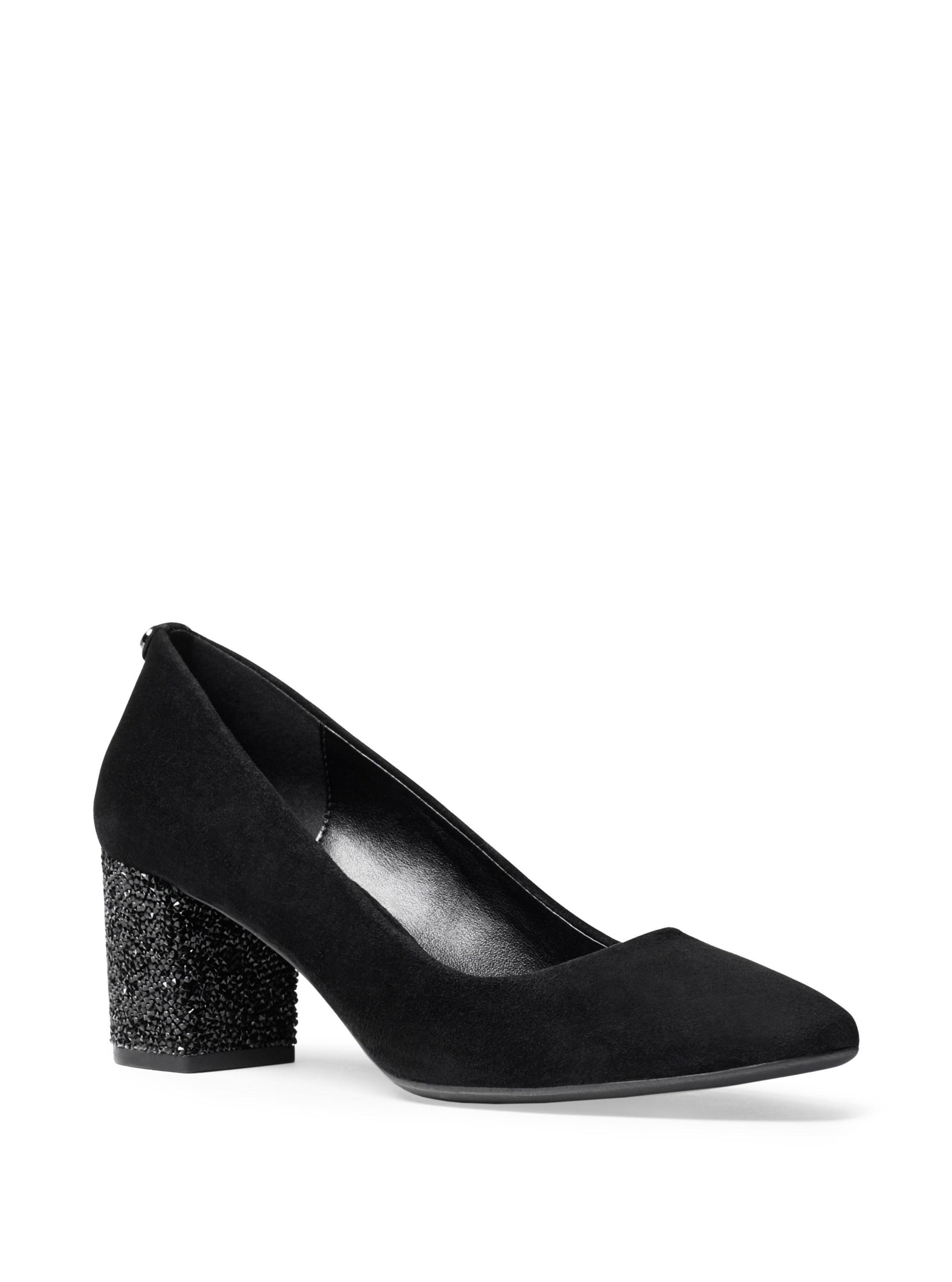 b6e8e615b7ff MICHAEL Michael Kors. Women s Black Dorothy Leather Court Shoes