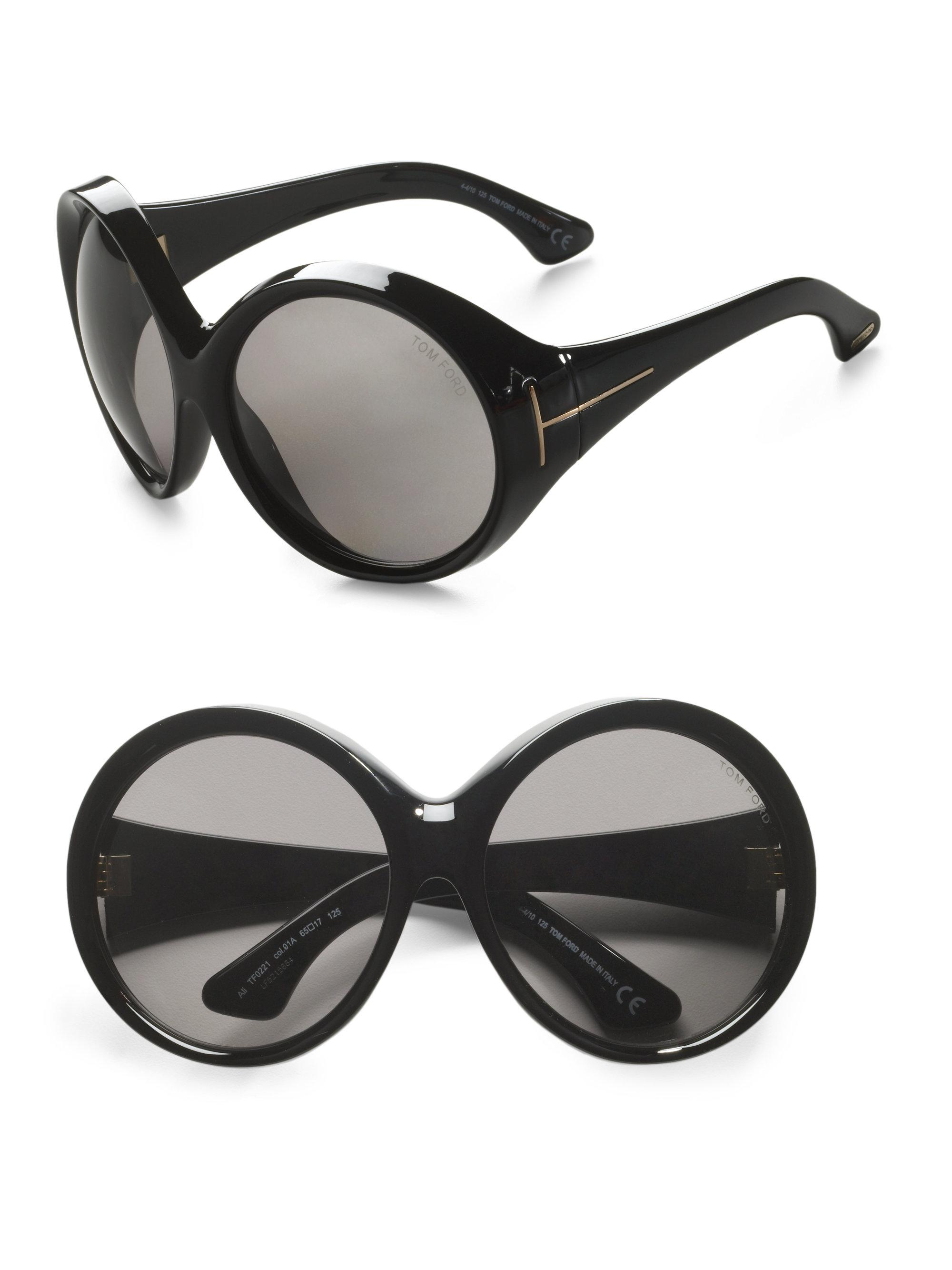 284d0bb965 Tom Ford Limited Edition Ali Sunglasses in Black - Lyst