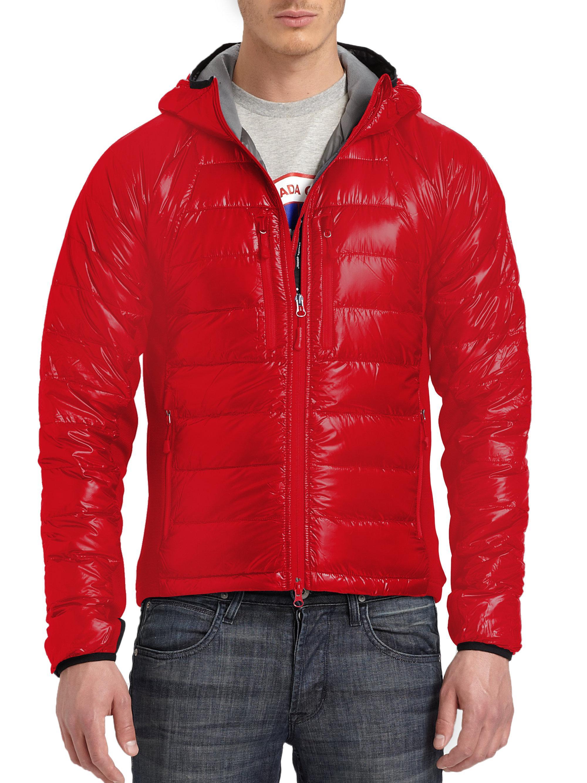 Canada Goose HyBridge Hoody Red