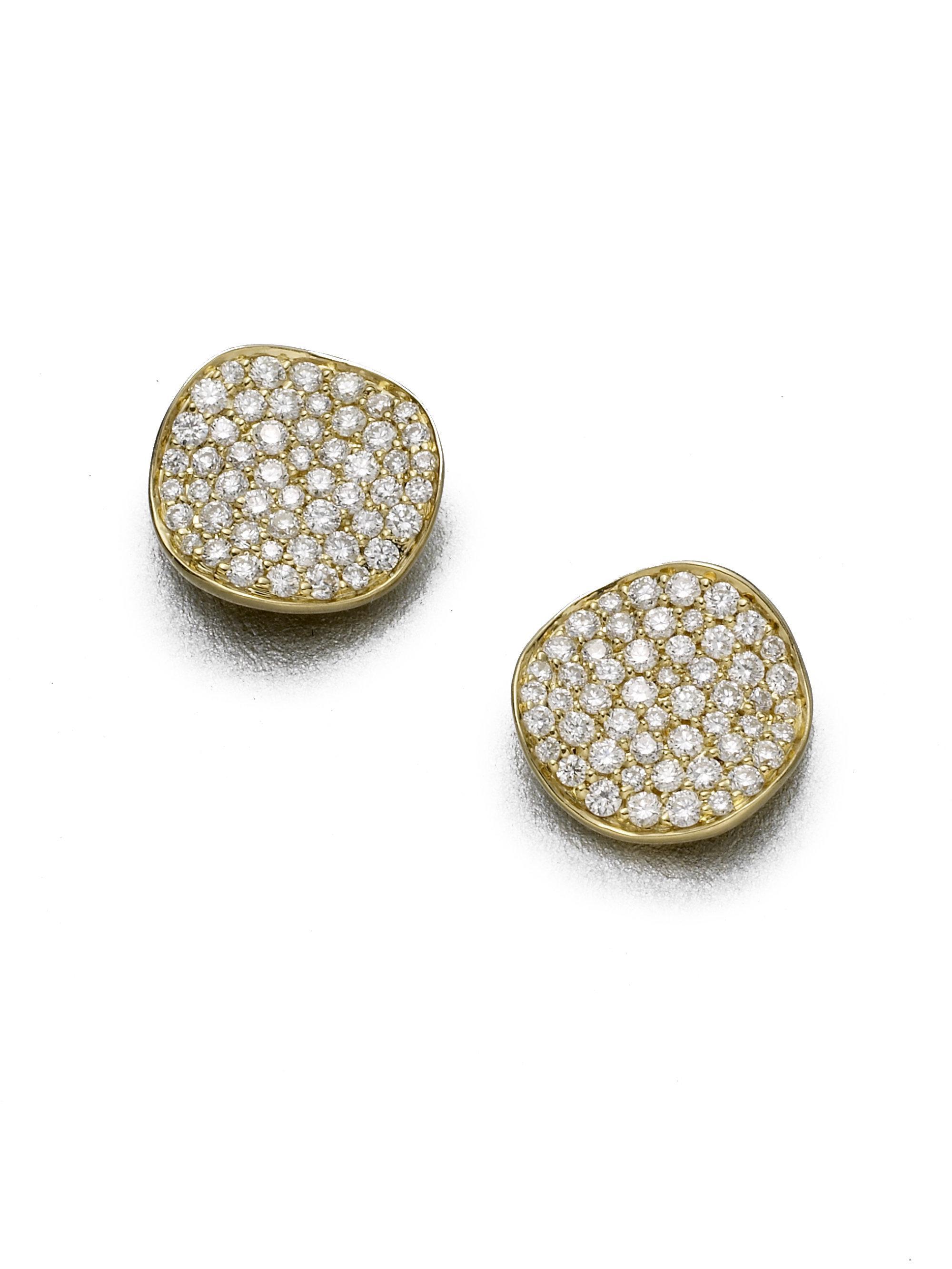 Ippolita Stardust Diamond Stud Earrings iuALqnd